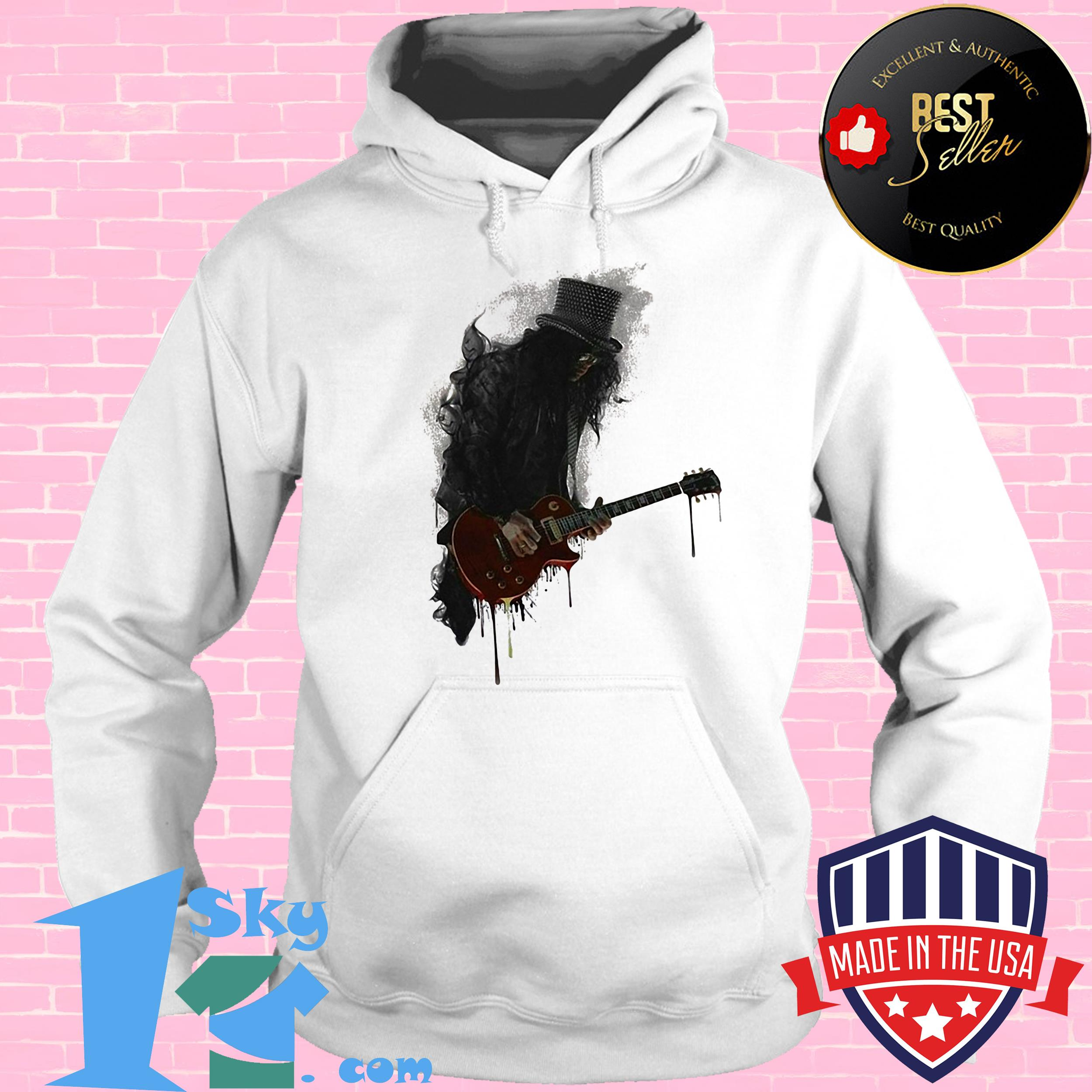 goose artist with electric guitar hoodie - Goose Artist with Electric Guitar Shirt