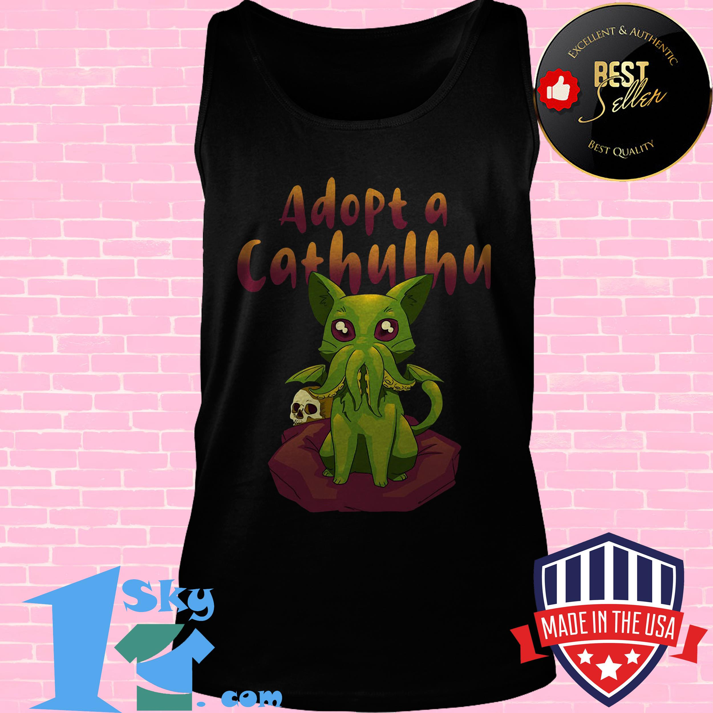 official goose adopt a cathulhu tank top - Official Goose Adopt A Cathulhu Shirt