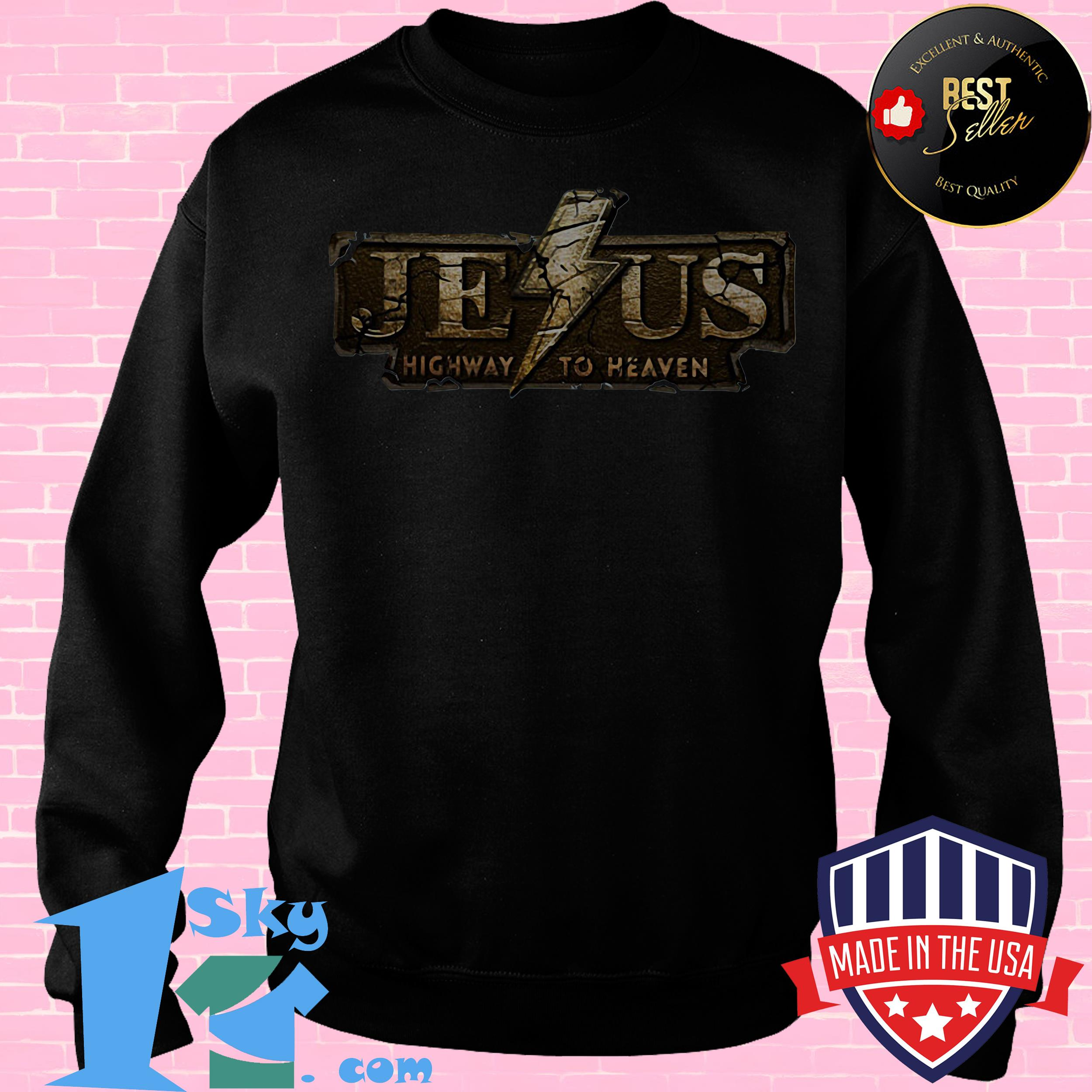 Official Jesus Highway To Heaven Shirt