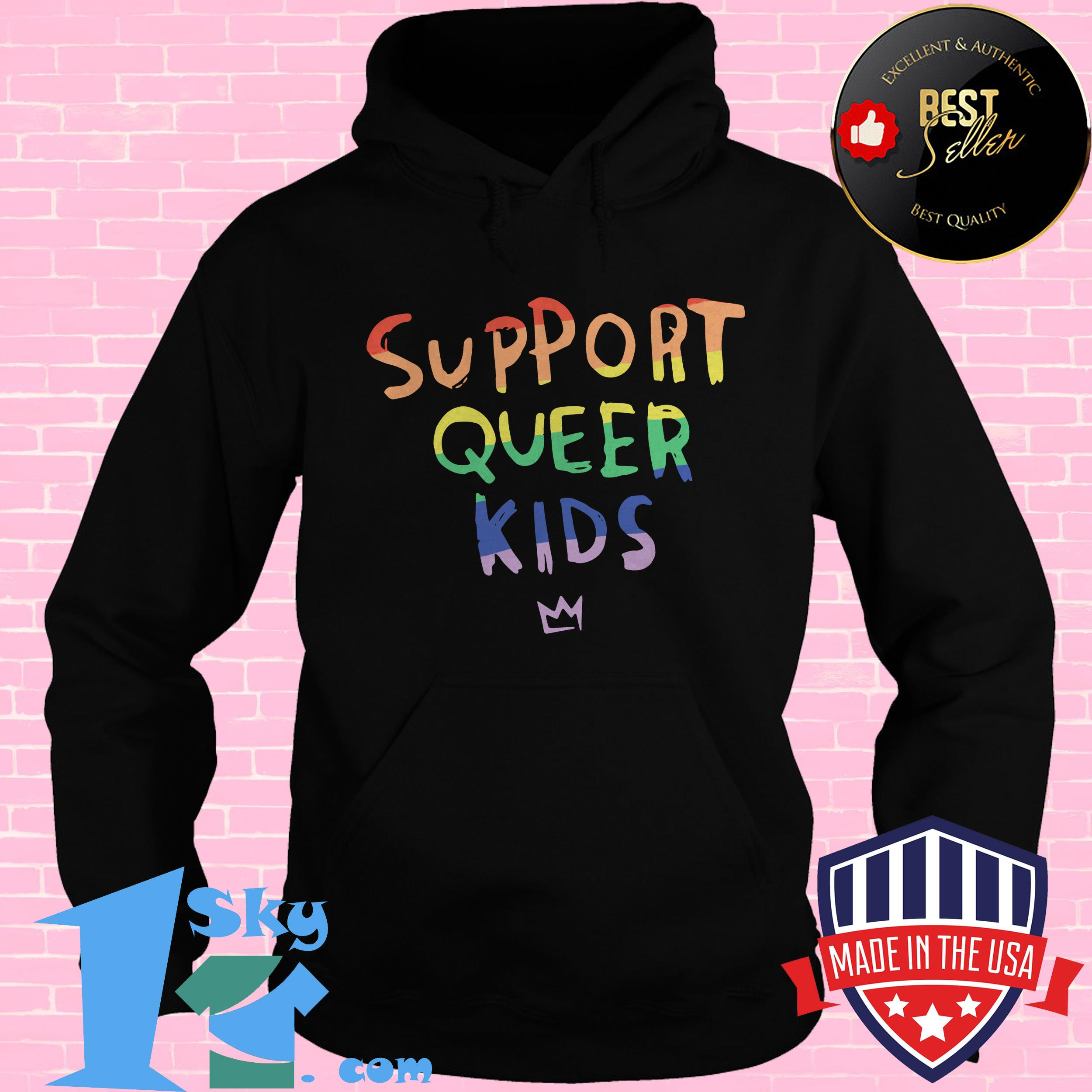 official support queer kids hoodie - Official LGBT Support Queer Kids shirt