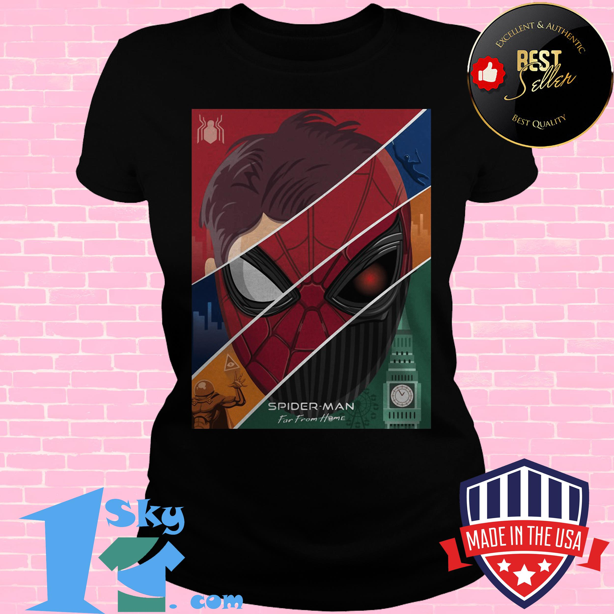 marvel spider man far from home ladies tee - Marvel Spider-Man Far From Home shirt