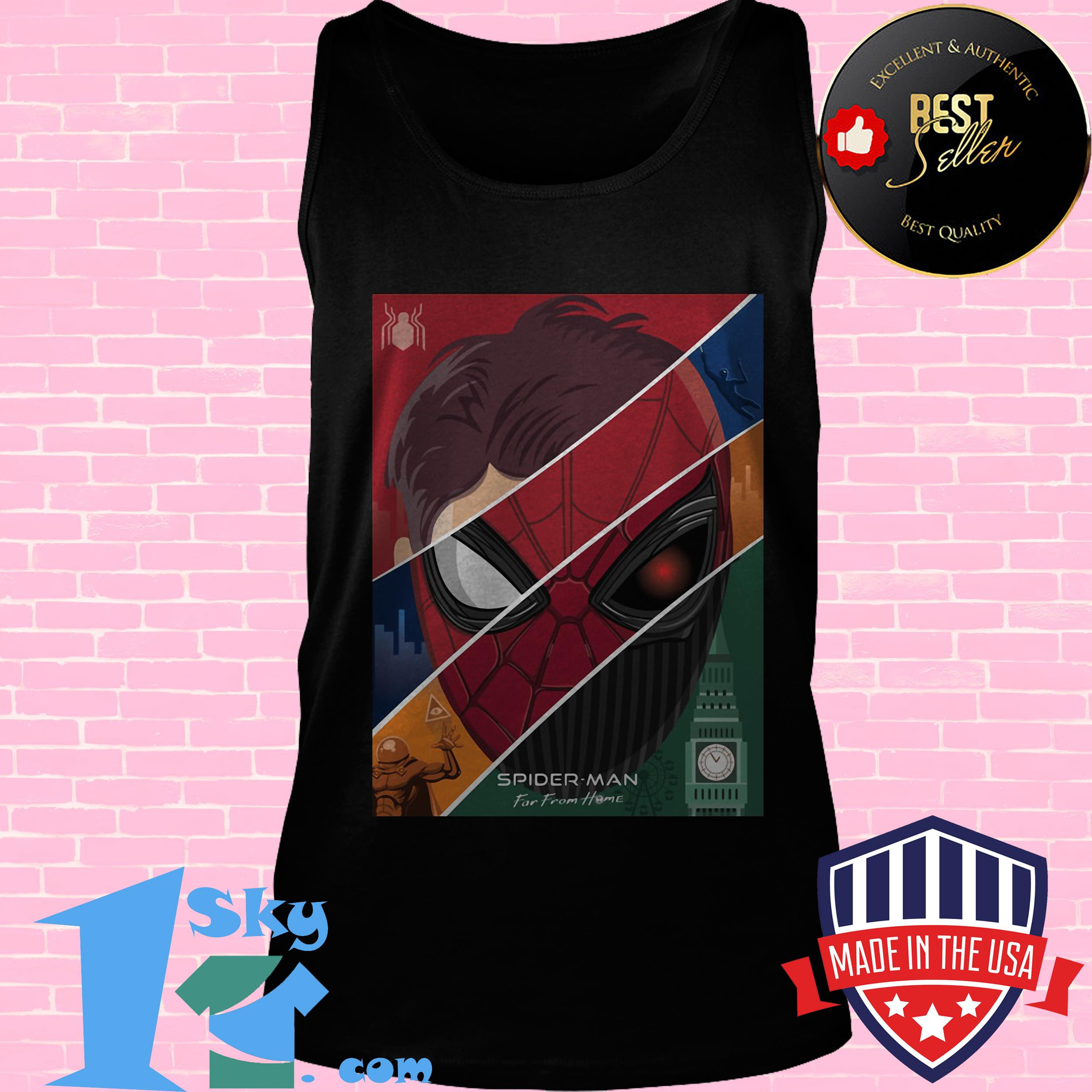 marvel spider man far from home tank top - Marvel Spider-Man Far From Home shirt
