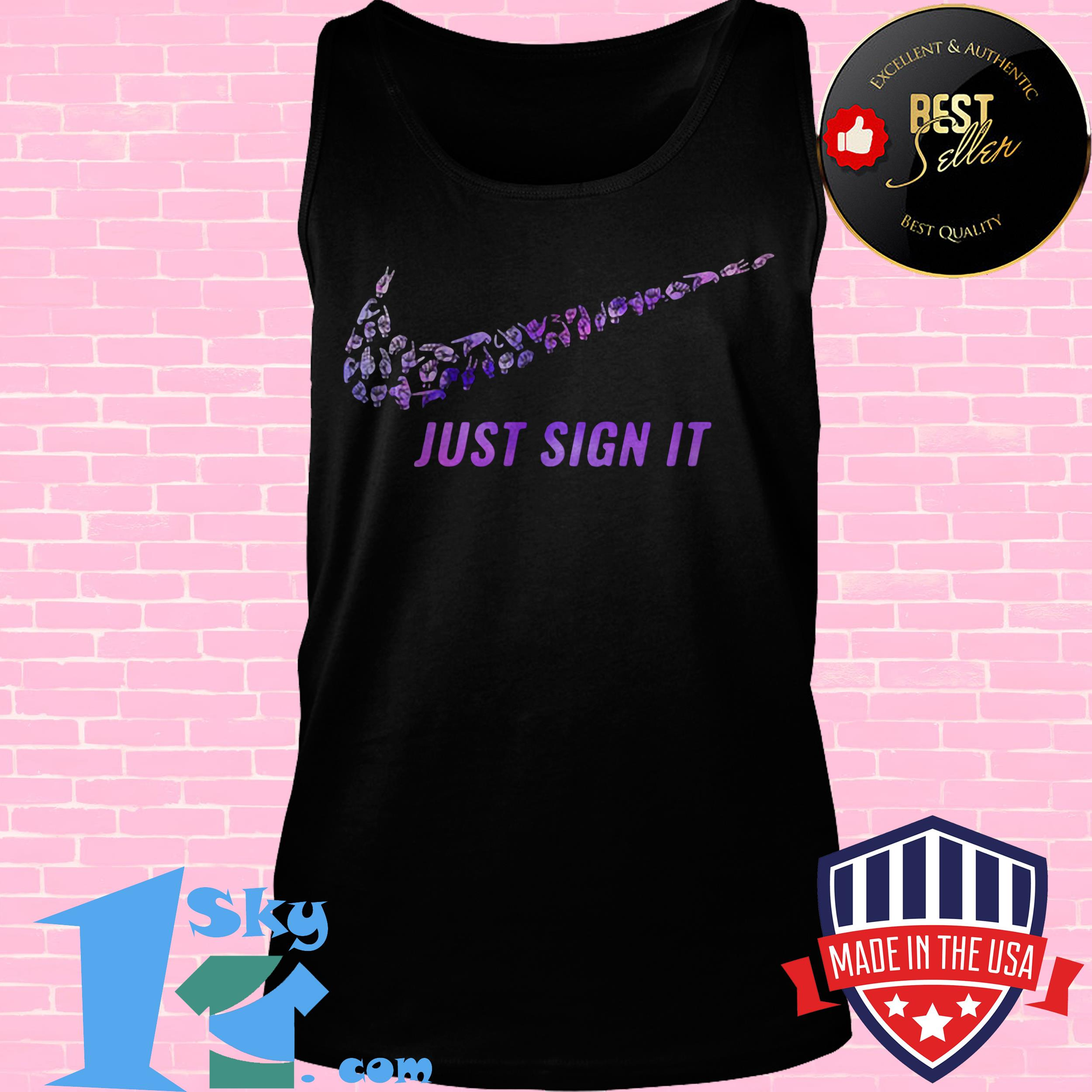 official nike just sign it tank top - Official Nike Just Sign It shirt