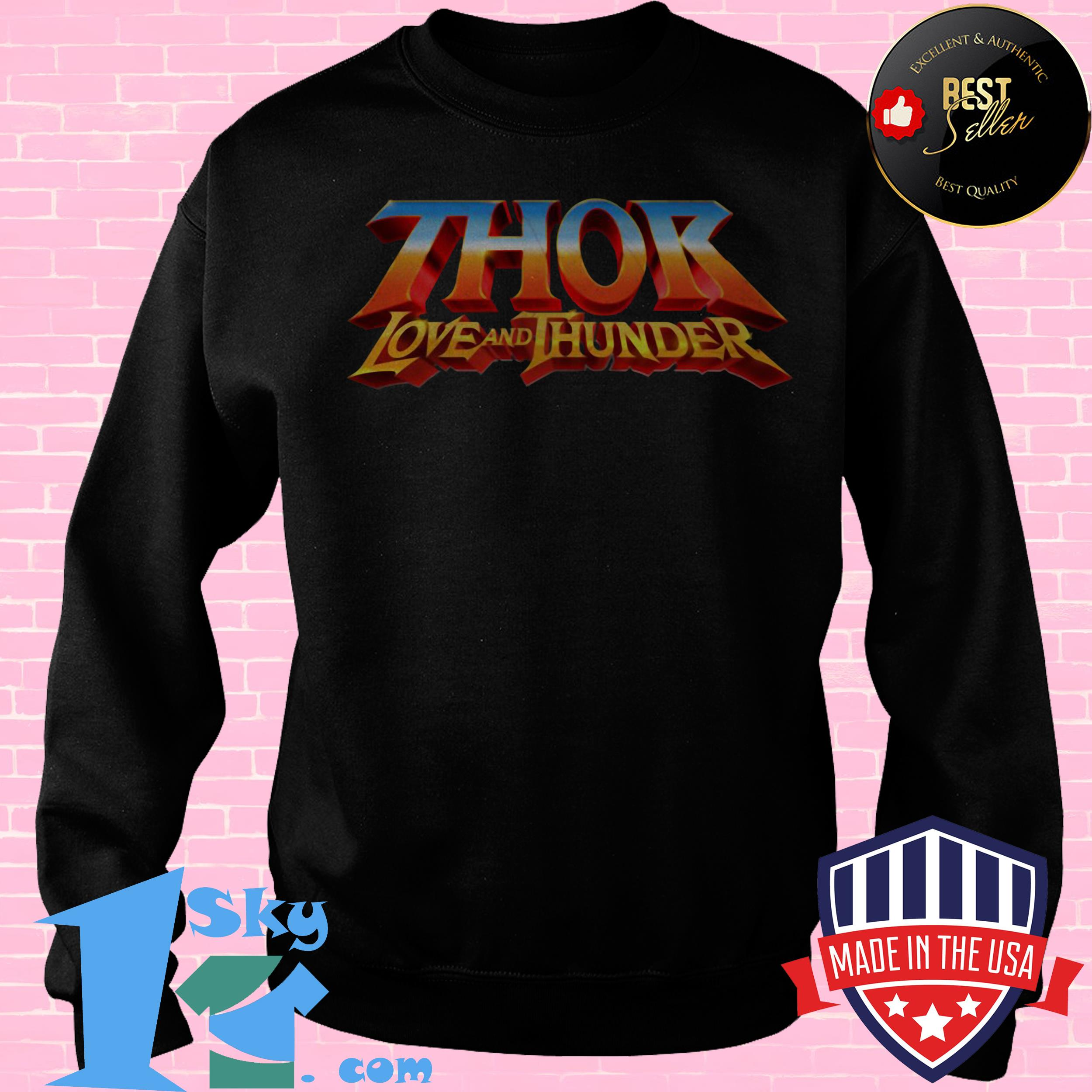 Official Thor Love and Thunder shirt