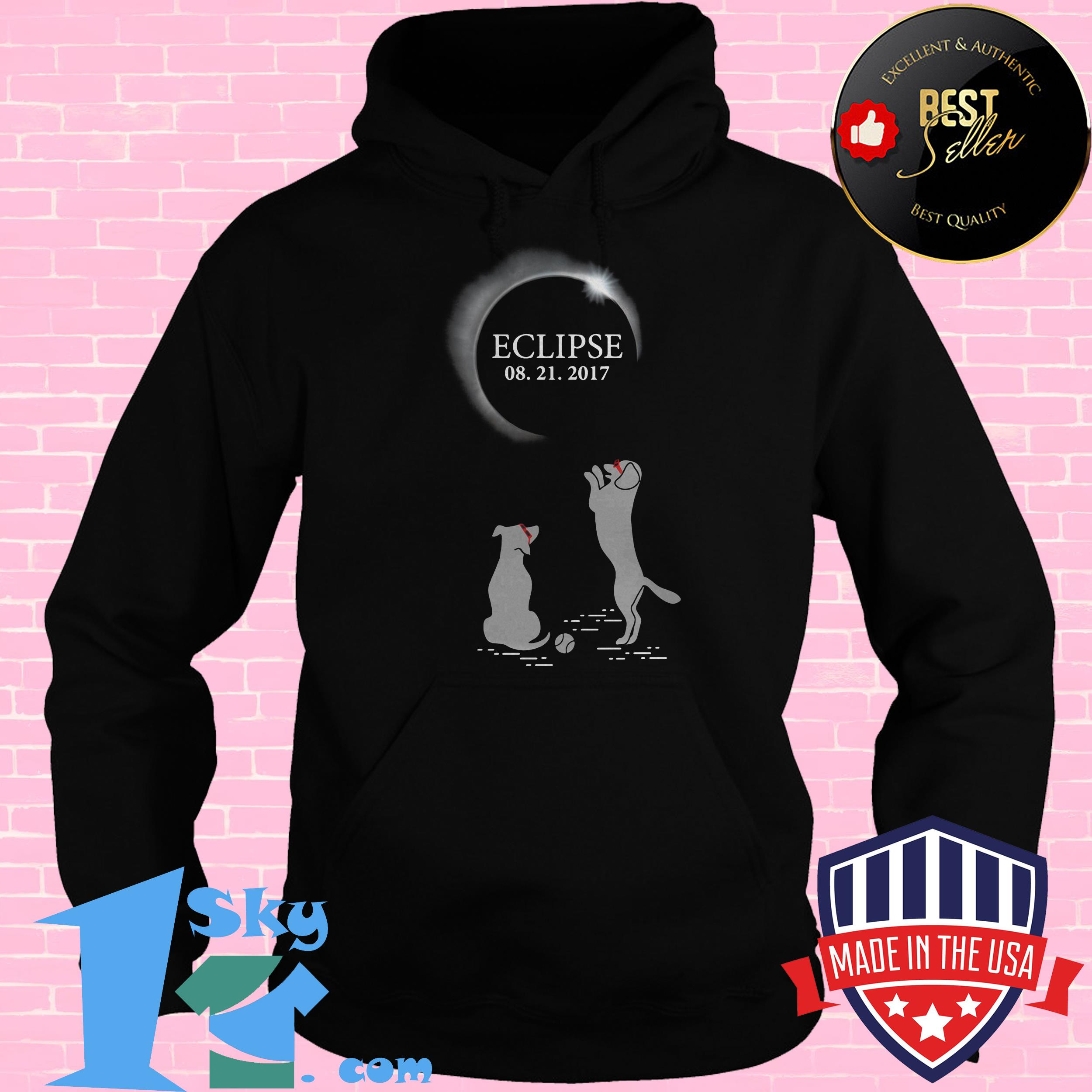 solar eclipse august 21 2017 dogs hoodie - Solar Eclipse August 21 2017 Dogs shirt