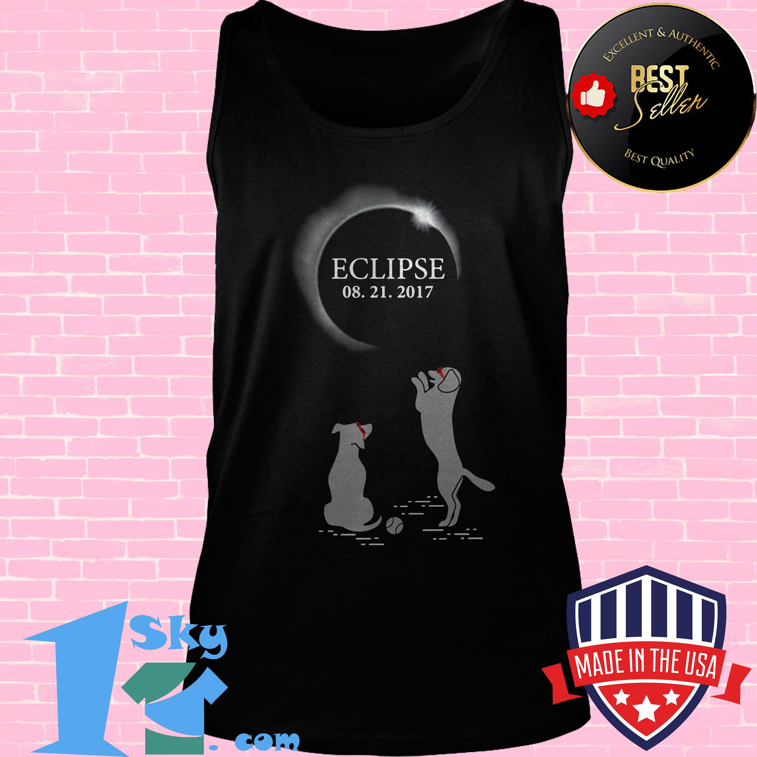 solar eclipse august 21 2017 dogs tank top - Solar Eclipse August 21 2017 Dogs shirt
