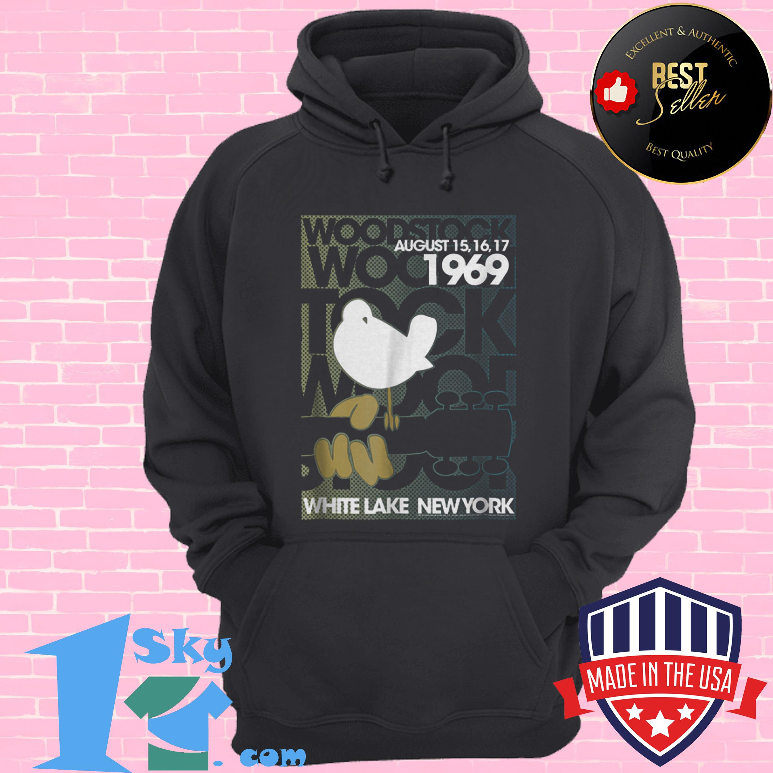 awesome woodstock august 1969 white lake new york hoodie - Awesome Woodstock August 1969 White Lake New York shirt