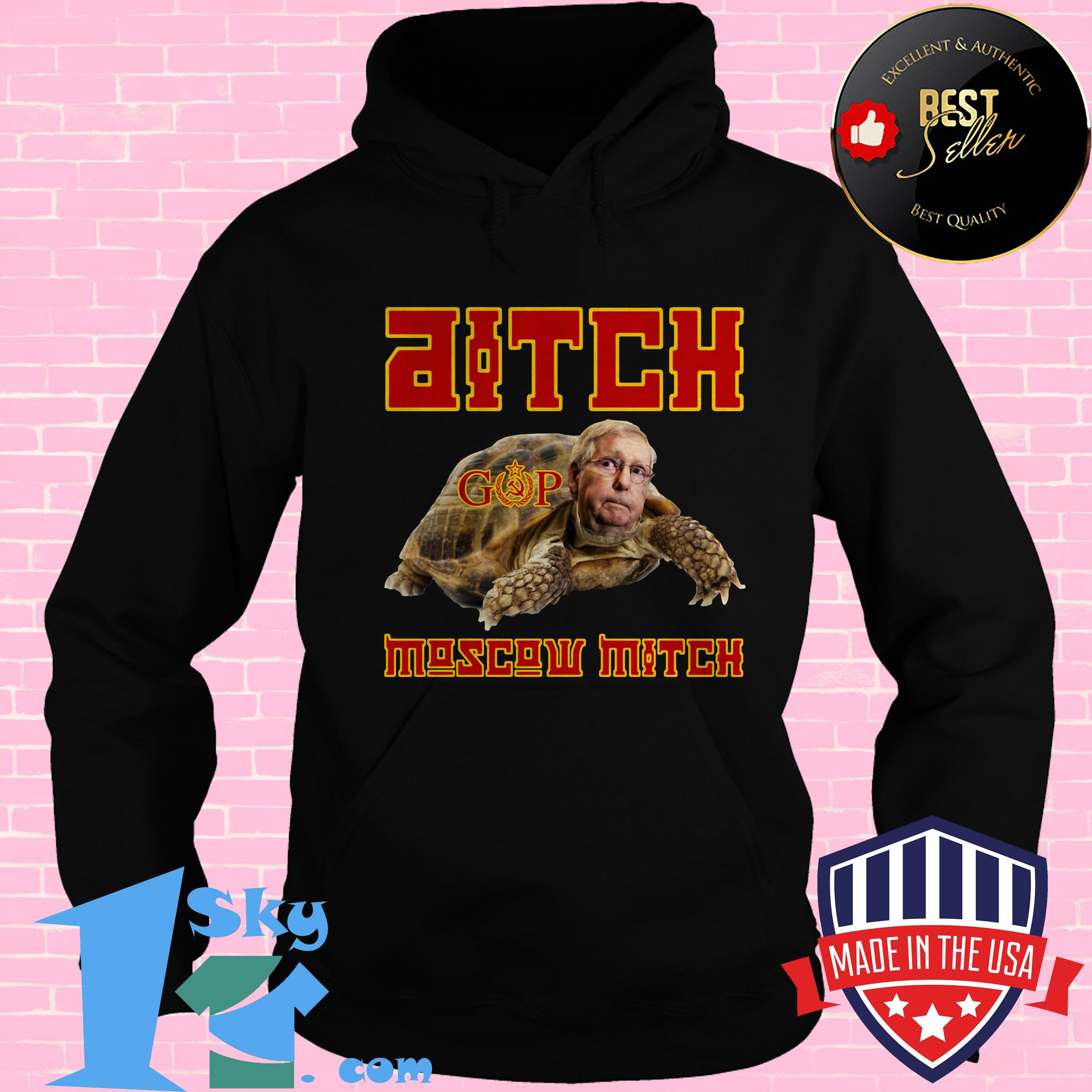 ditch moscow mitch red menace edition hoodie - Ditch Moscow Mitch - Red Menace Edition shirt