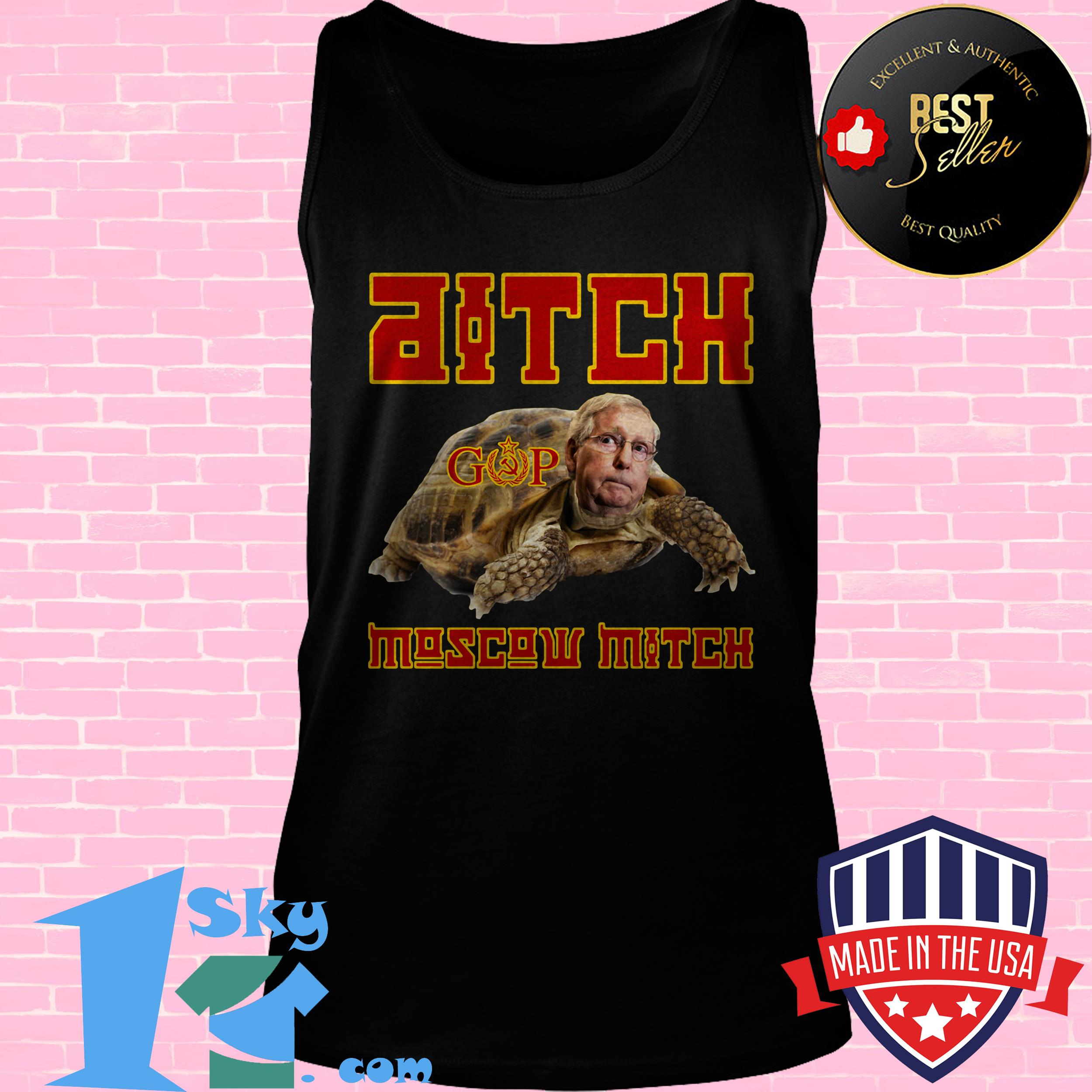 ditch moscow mitch red menace edition tank top - Ditch Moscow Mitch - Red Menace Edition shirt