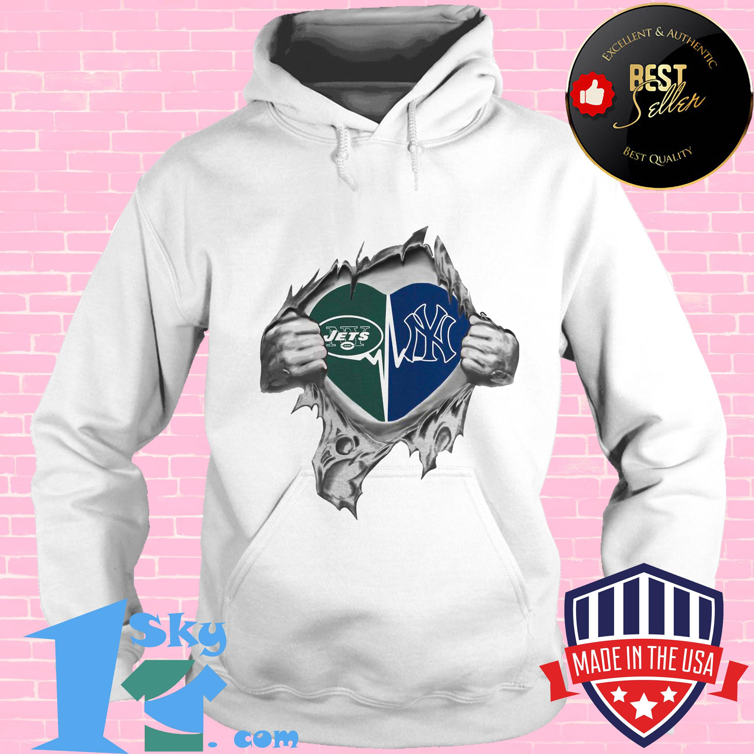jets yankees its in my heart inside me hoodie - Jets Yankees It's In My Heart Inside Me shirt
