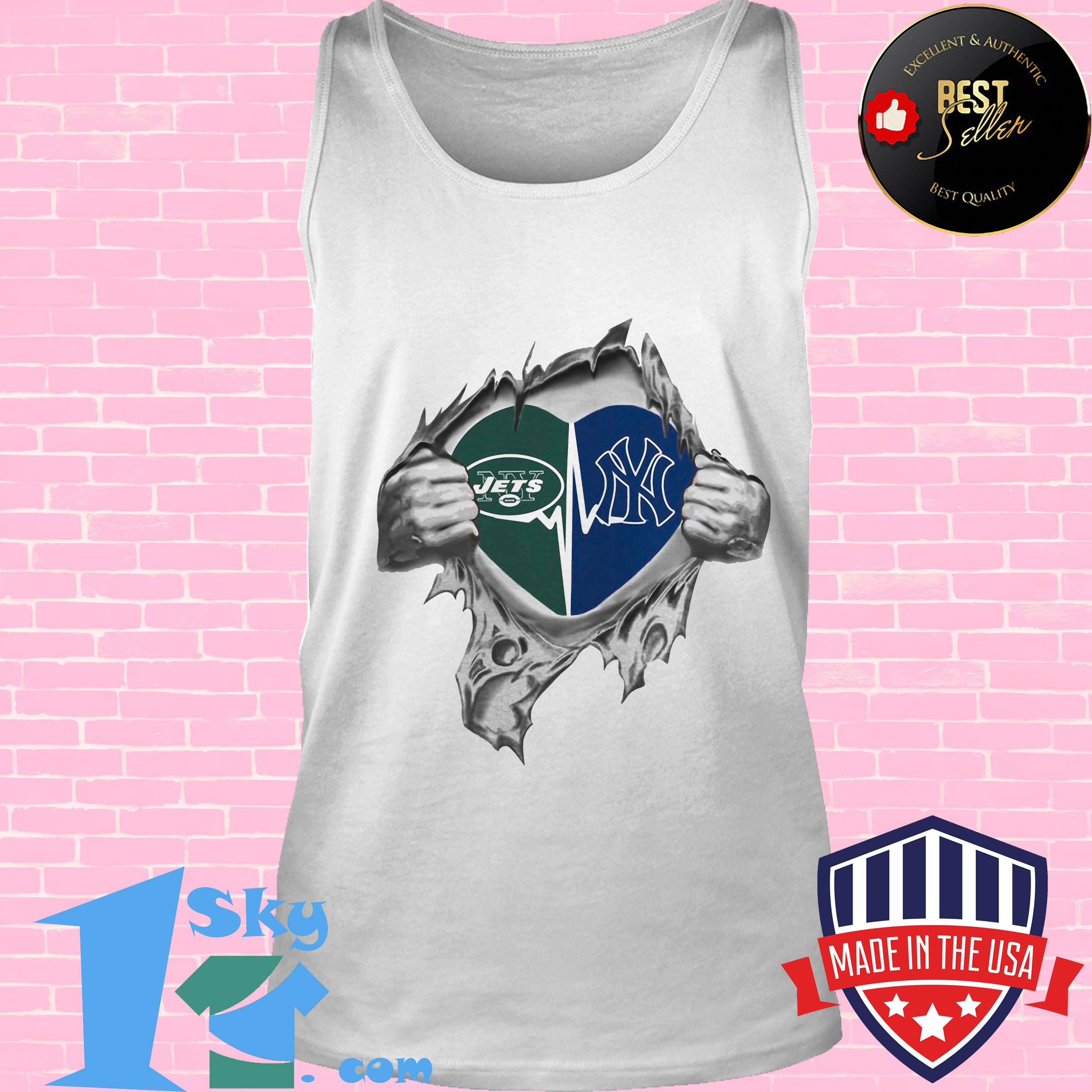 jets yankees its in my heart inside me tank top - Jets Yankees It's In My Heart Inside Me shirt