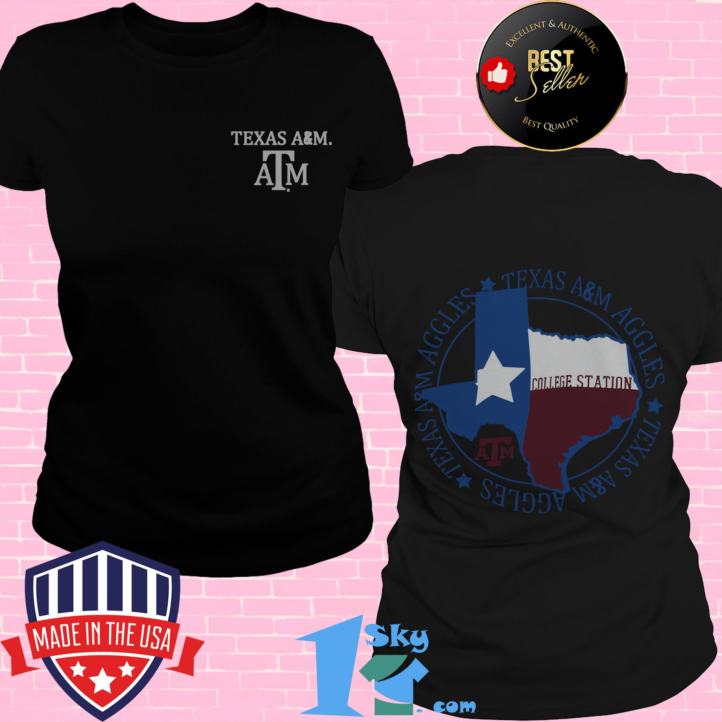 texas am aggies flag local comfort ladies tee 1 - Texas A&M Aggies Flag Local Comfort shirt