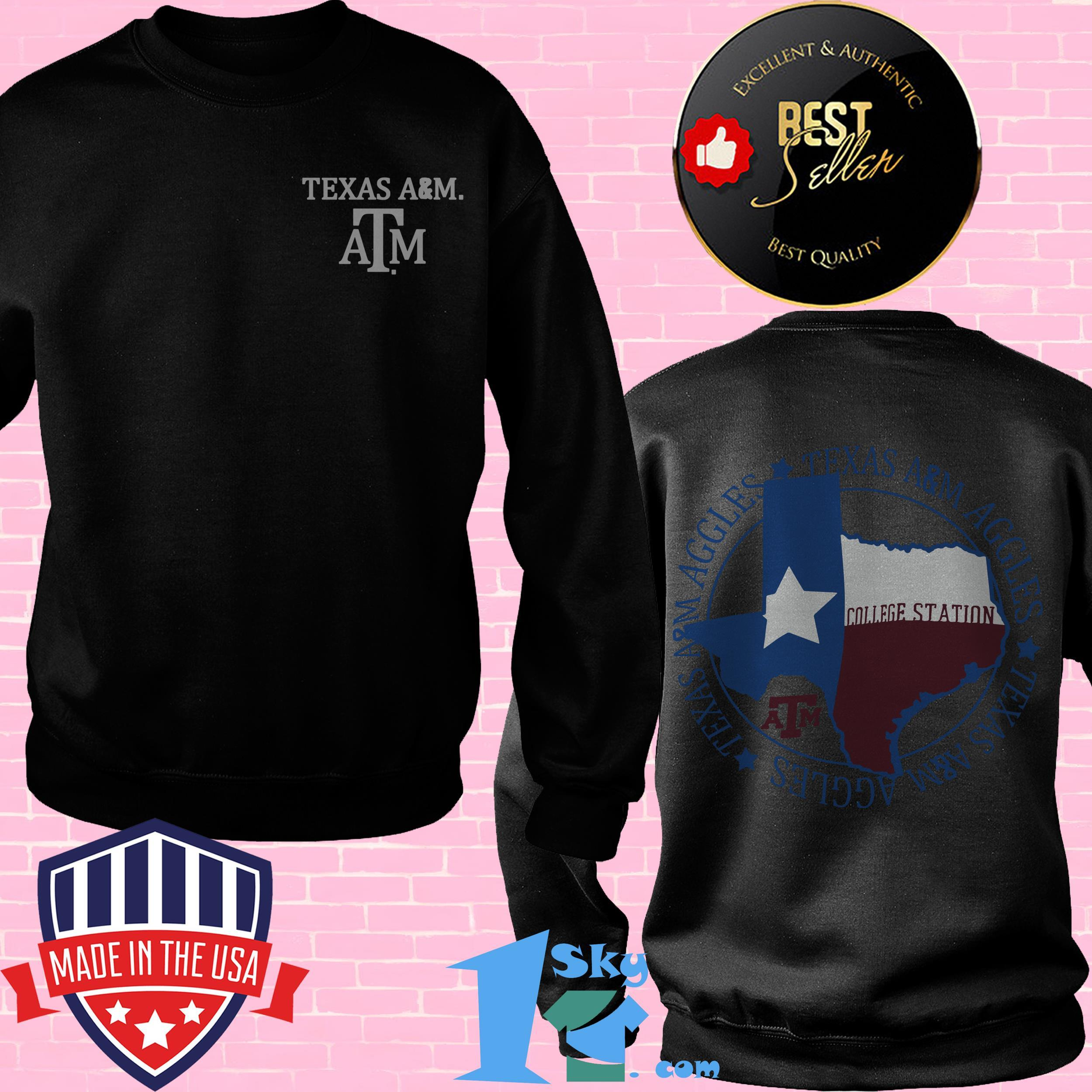 texas am aggies flag local comfort sweattshirt - Texas A&M Aggies Flag Local Comfort shirt