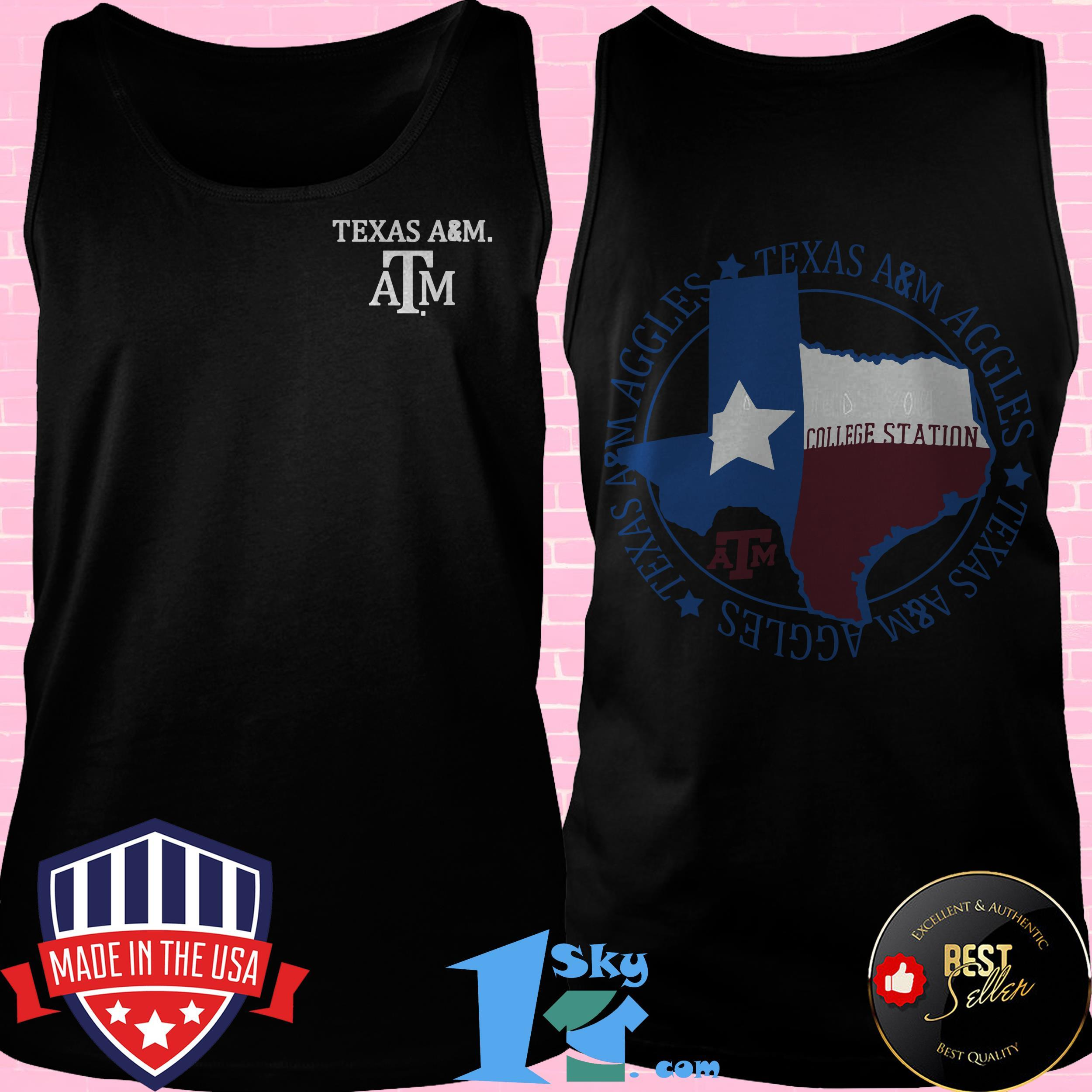 texas am aggies flag local comfort tank top 1 - Texas A&M Aggies Flag Local Comfort shirt