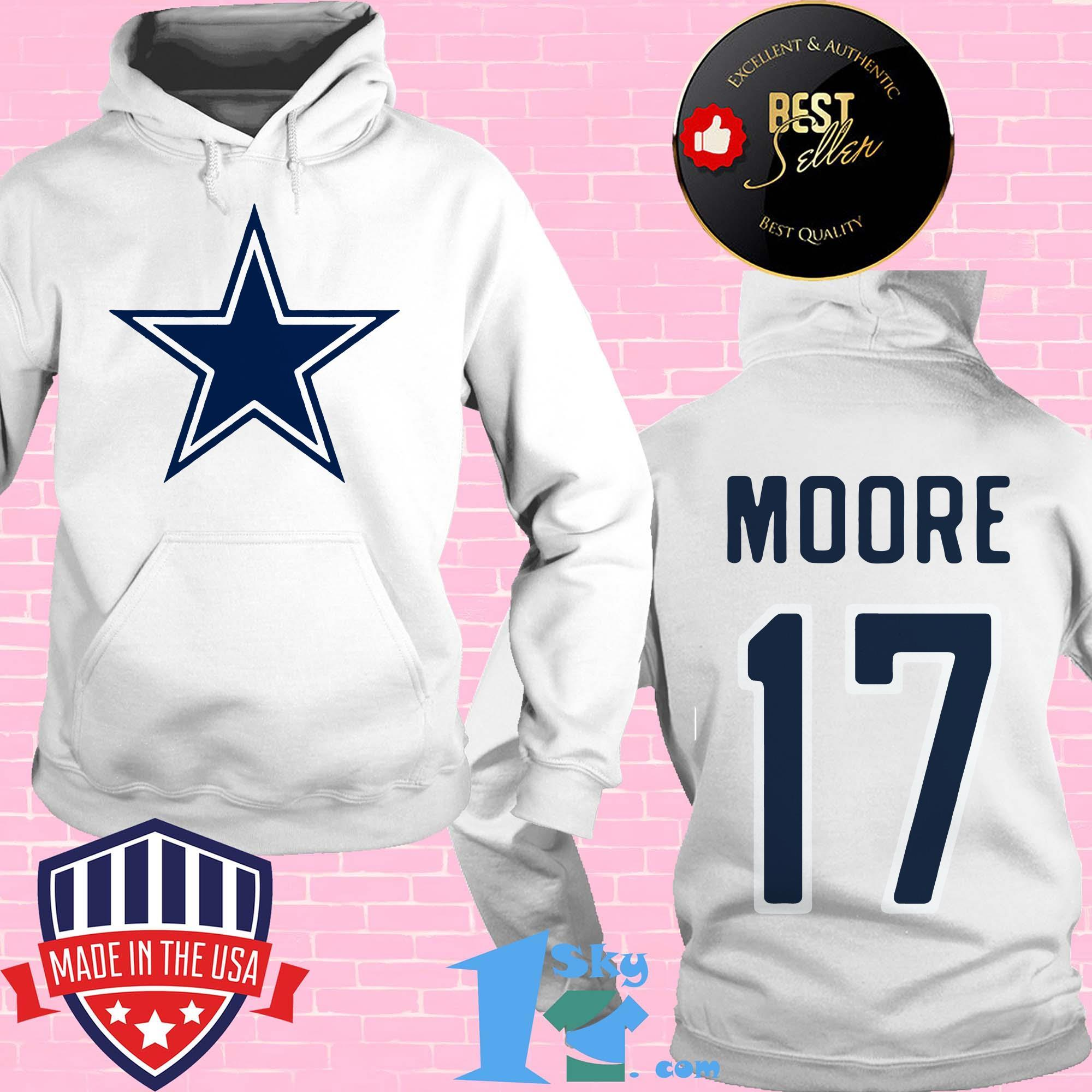 17 kellen moore dallas cowboys hoodie - 17 Kellen Moore Dallas Cowboys shirt