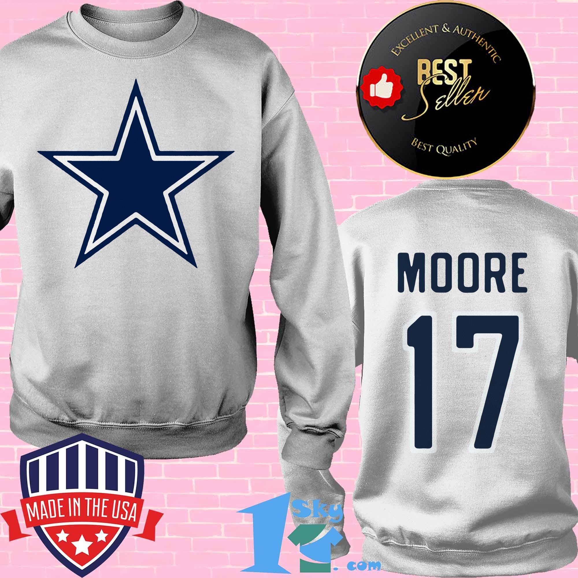17 kellen moore dallas cowboys sweatshirt - 17 Kellen Moore Dallas Cowboys shirt