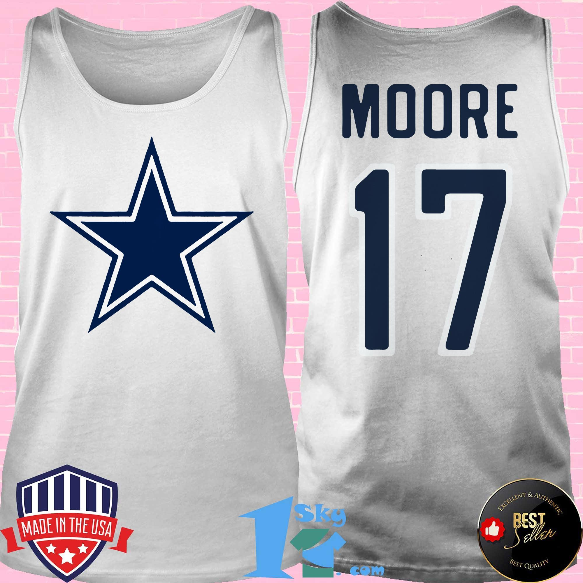 17 kellen moore dallas cowboys tank top - 17 Kellen Moore Dallas Cowboys shirt