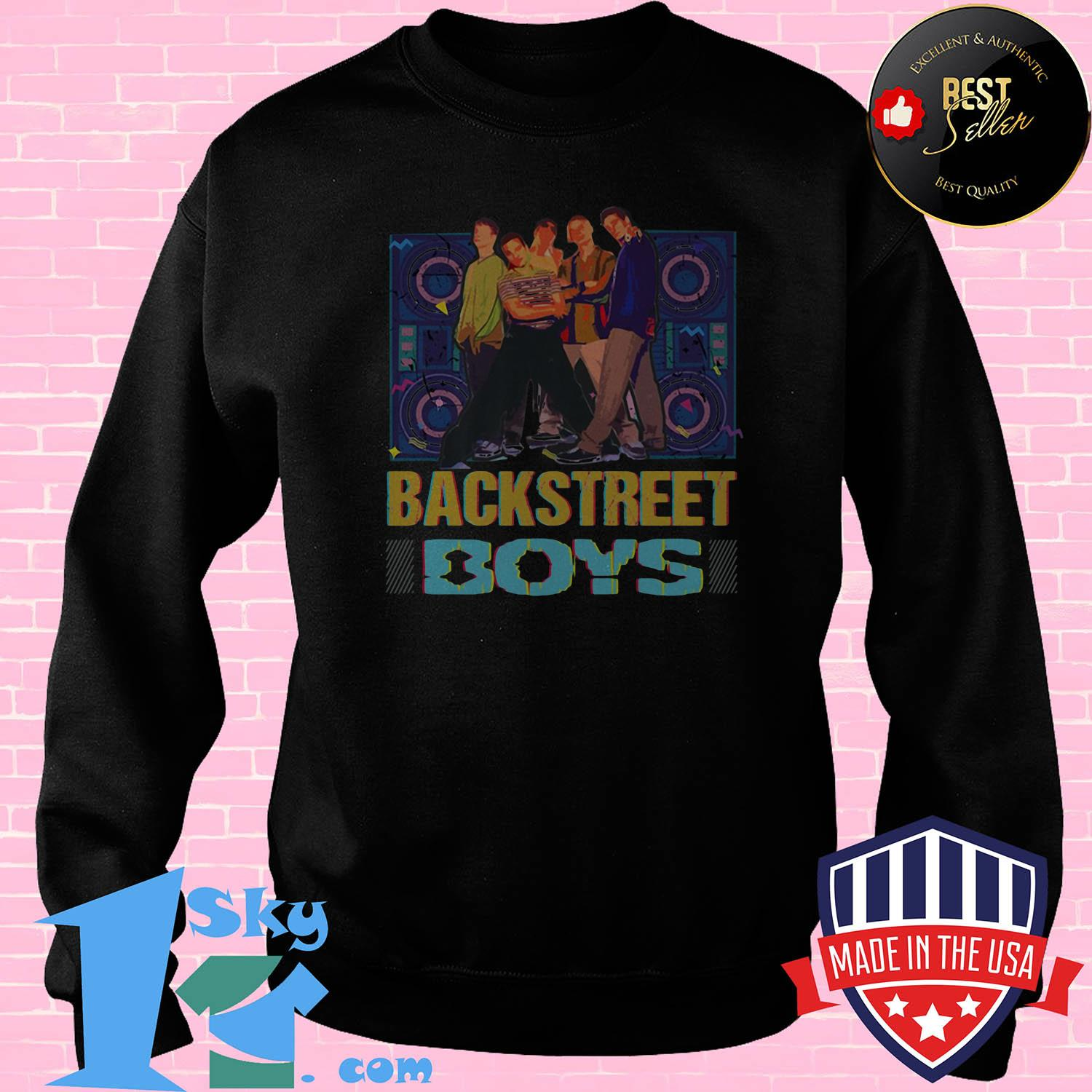 90s backstreet boys vintage back boys music band sweatshirt - 90s Backstreet Boys Vintage Back Boys Music Band shirt