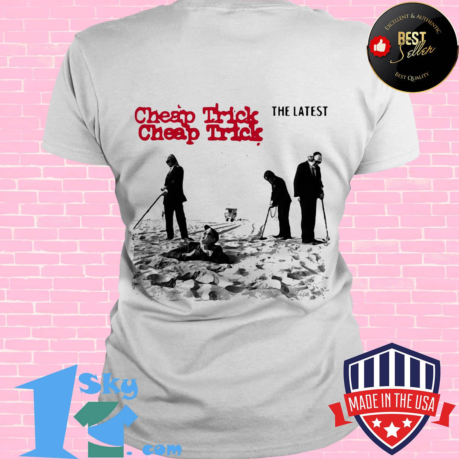cheap trick the latest rock band ladies tee - Cheap Trick The Latest Rock Band shirt