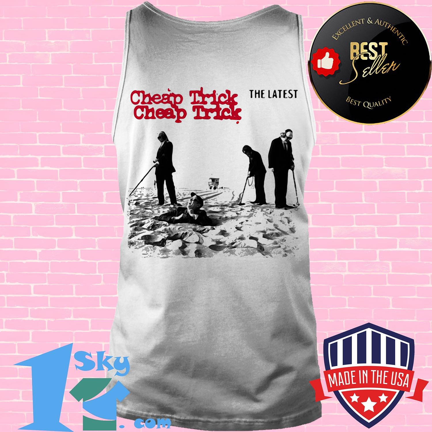 cheap trick the latest rock band tank top - Cheap Trick The Latest Rock Band shirt
