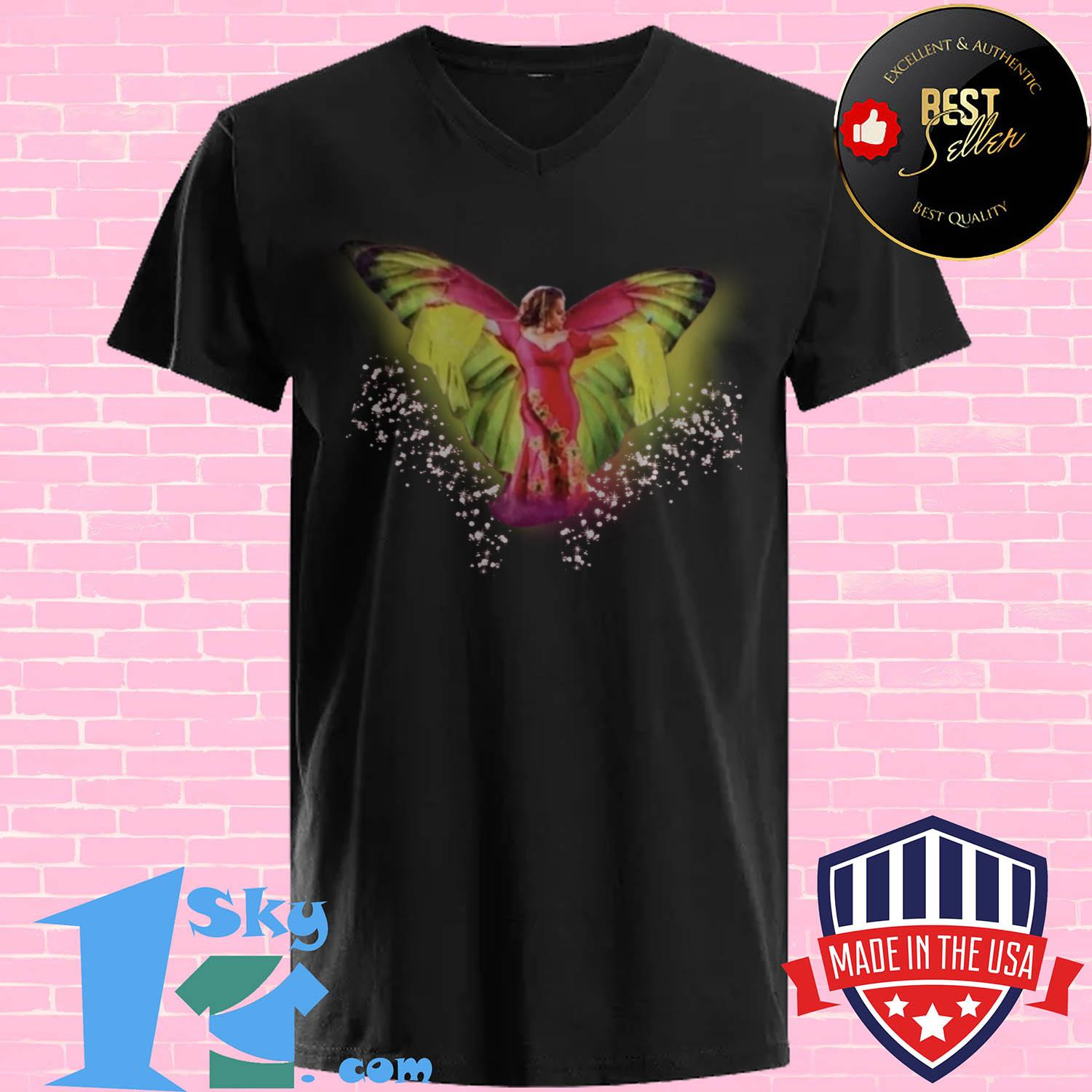 jenni rivera aparentemente signature v neck - Jenni Rivera Aparentemente signature shirt