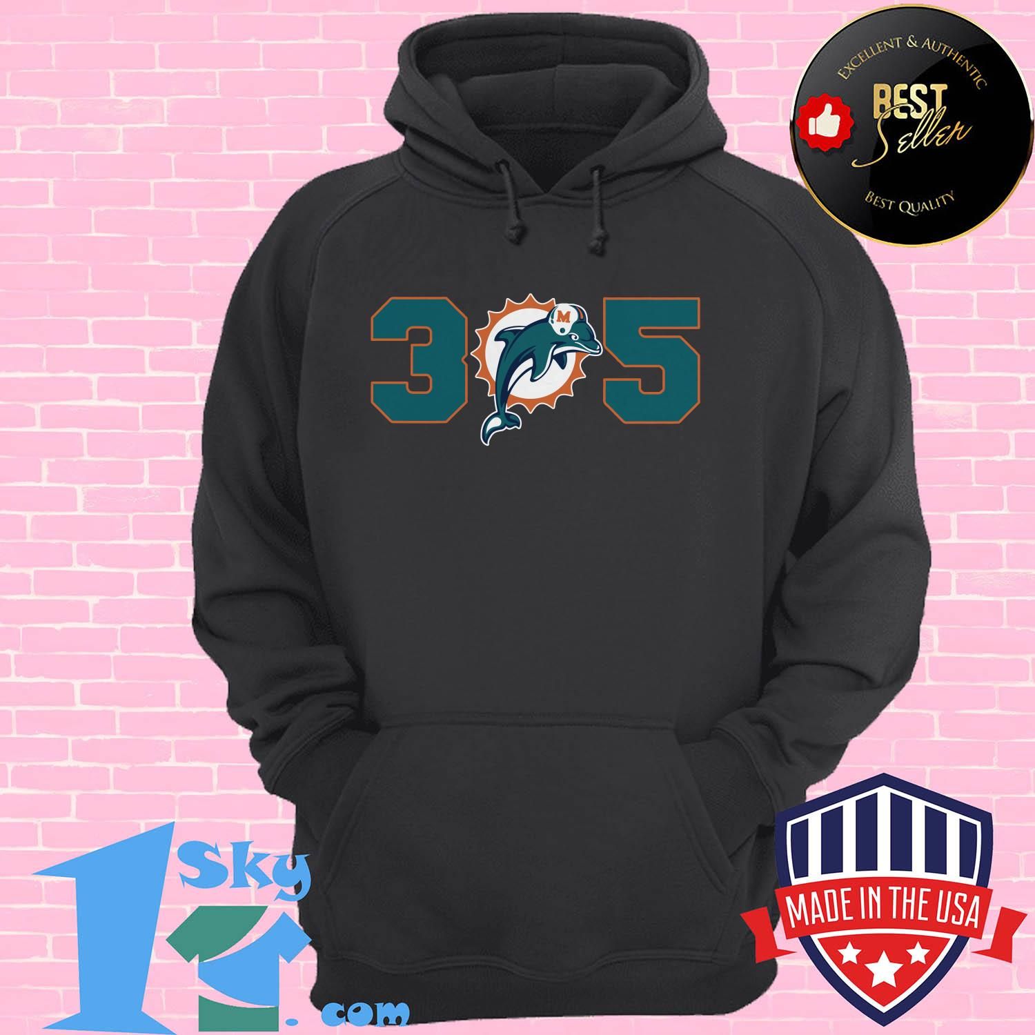 official 305 miami dolphins hoodie - Official 305 Miami Dolphins shirt