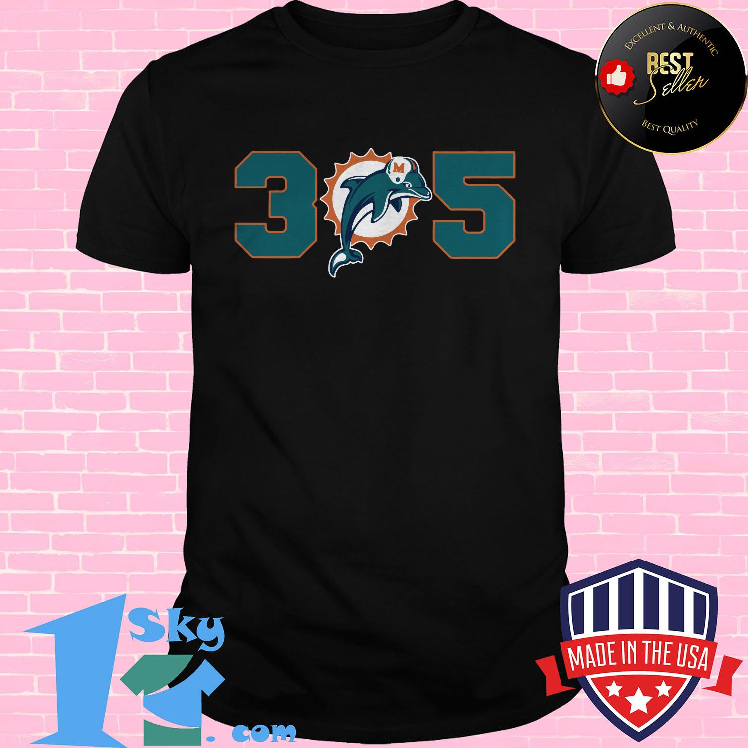 official 305 miami dolphins ladies tee - Official 305 Miami Dolphins shirt