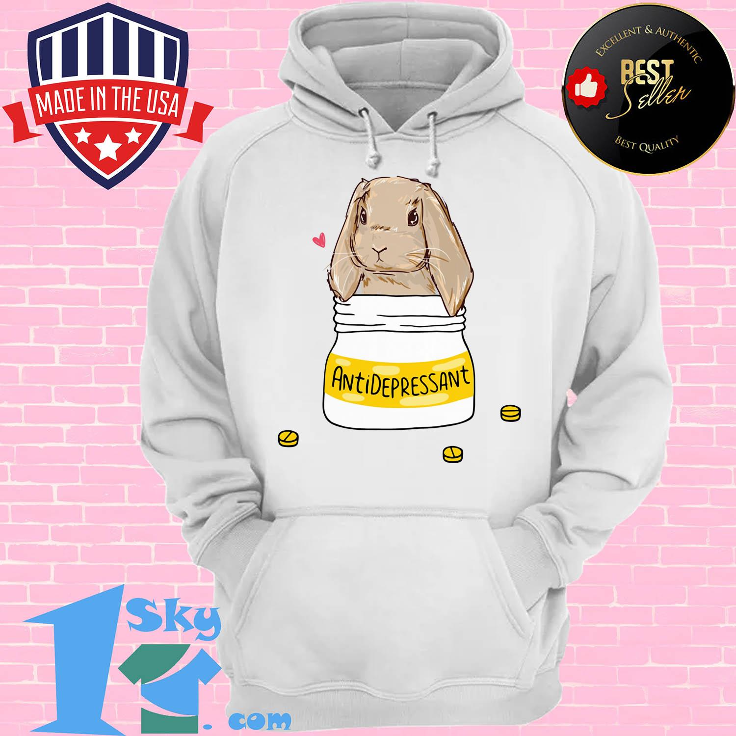 official bunny antidepressant hoodie - Official Bunny Antidepressant shirt