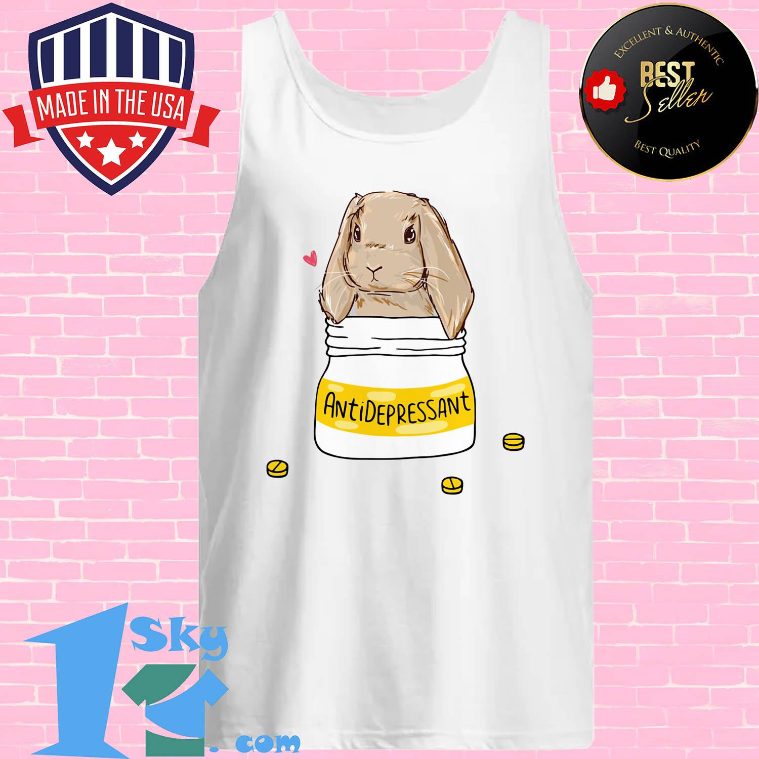 official bunny antidepressant tank top - Official Bunny Antidepressant shirt