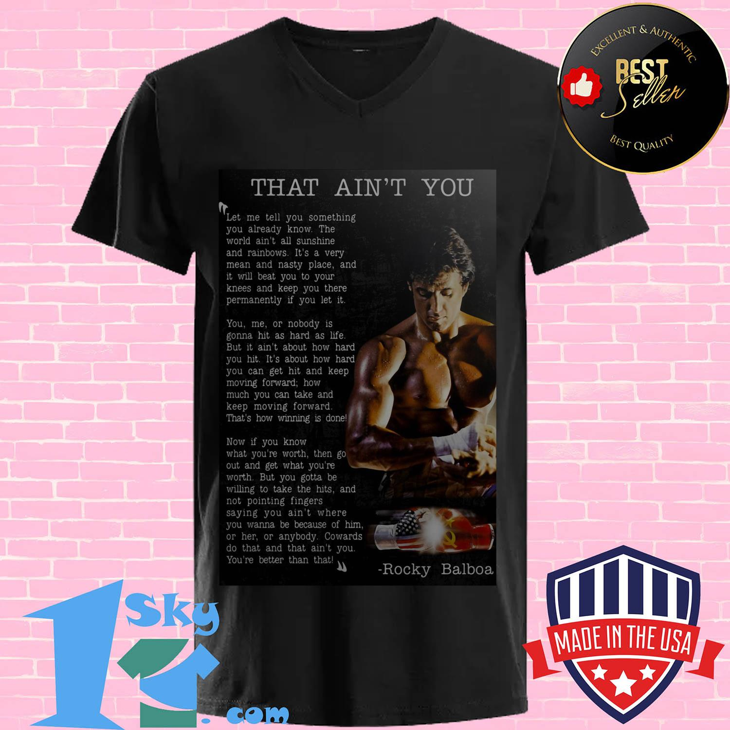 that aint you let me tell you something you already know v neck - That Ain't You Let Me Tell You Something You Already Know shirt