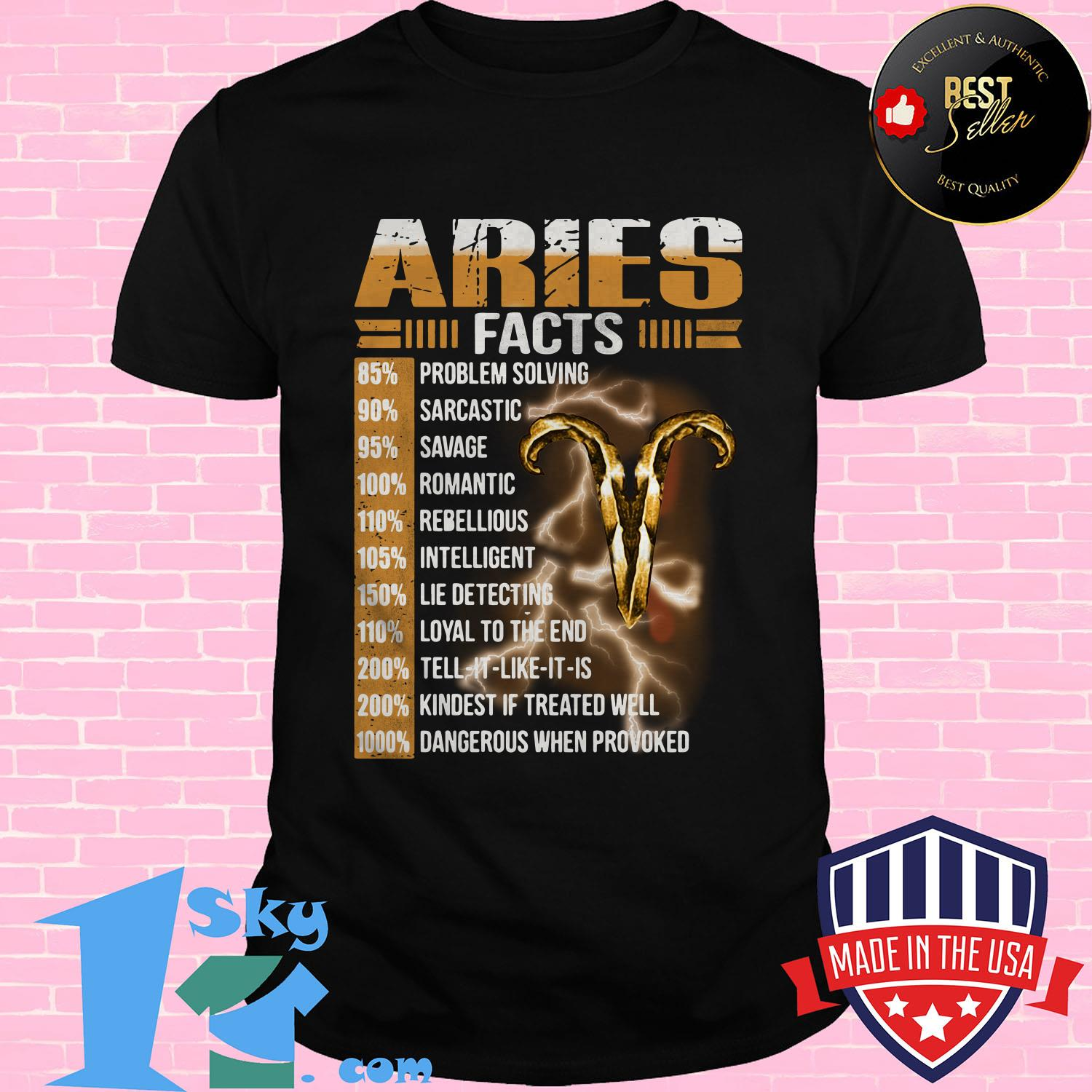 aries facts 85 problem solving 90 sarcastic 95 savage ladies tee - Aries facts 85% problem solving 90% sarcastic 95% savage shirt