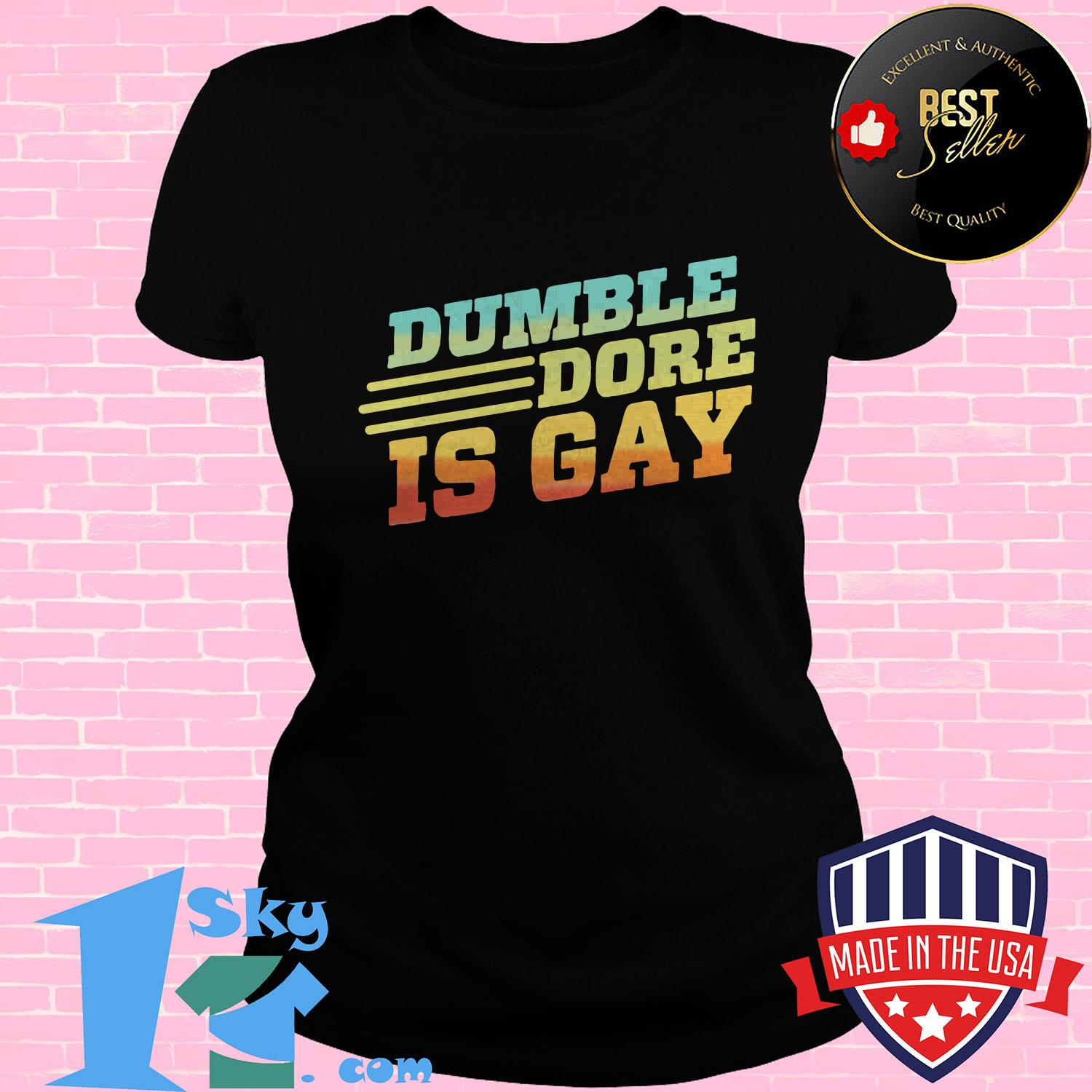 Dumbledore Is Gay Expecto Equality shirt