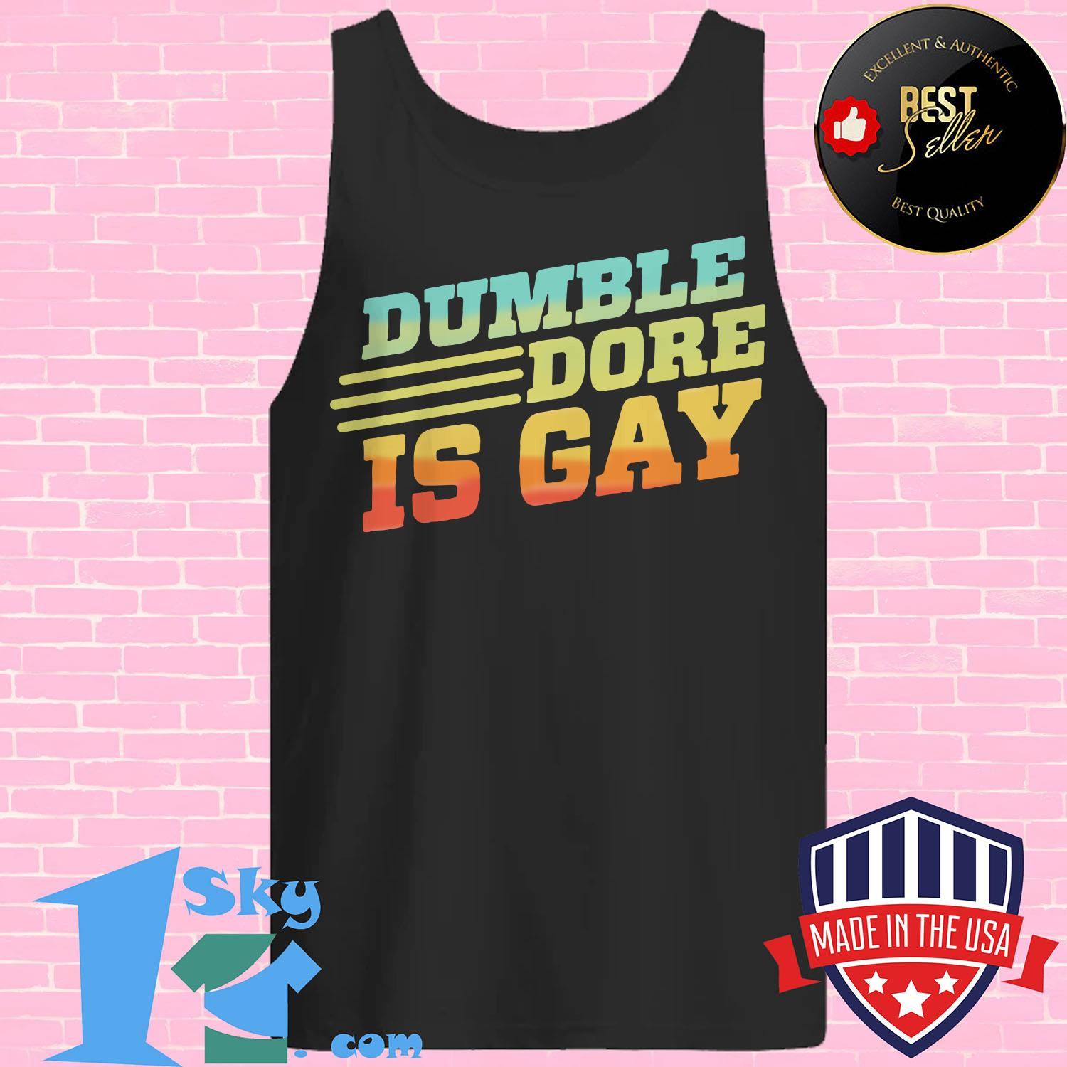 dumbledore is gay expecto equality tank top - Dumbledore Is Gay Expecto Equality shirt