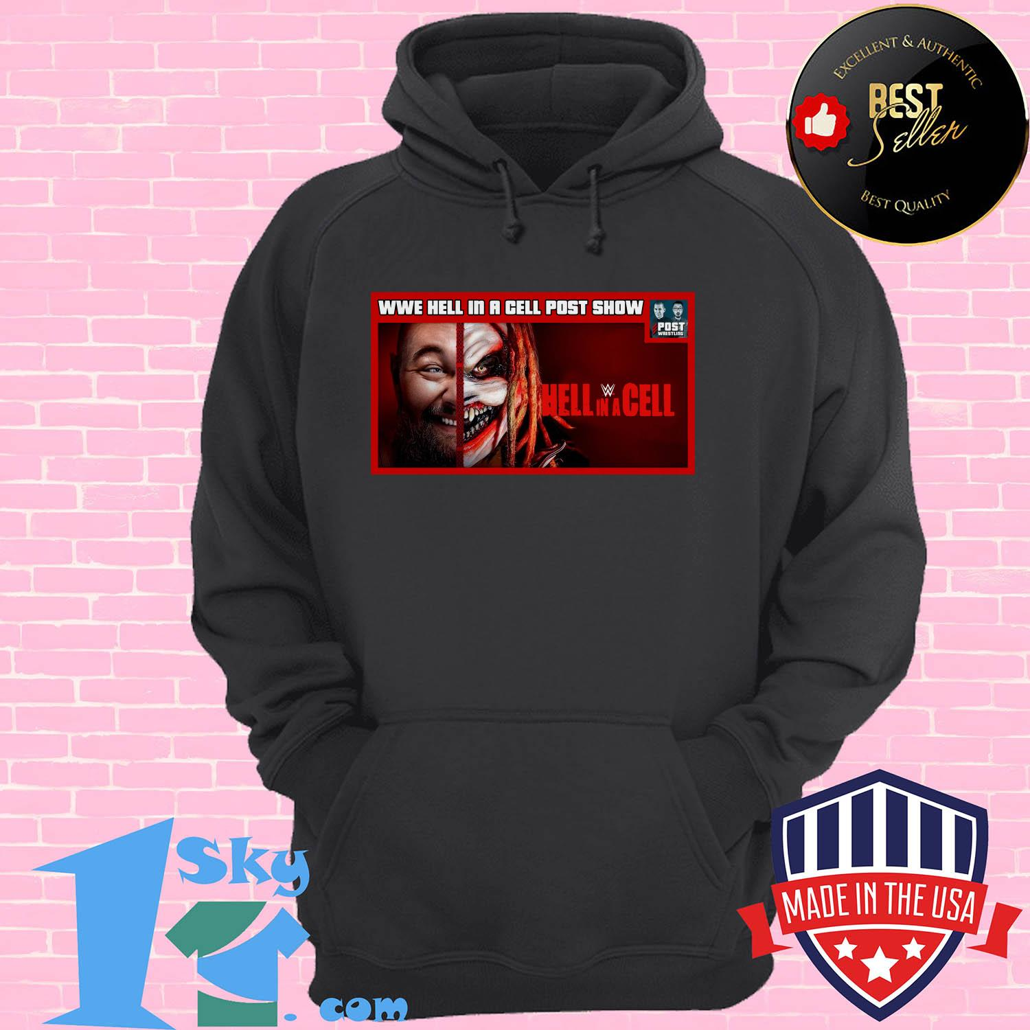 wwe hell in a cell post show hell in a cell hoodie 1 - Wwe Hell In A Cell Post Show Hell In A Cell Shirt