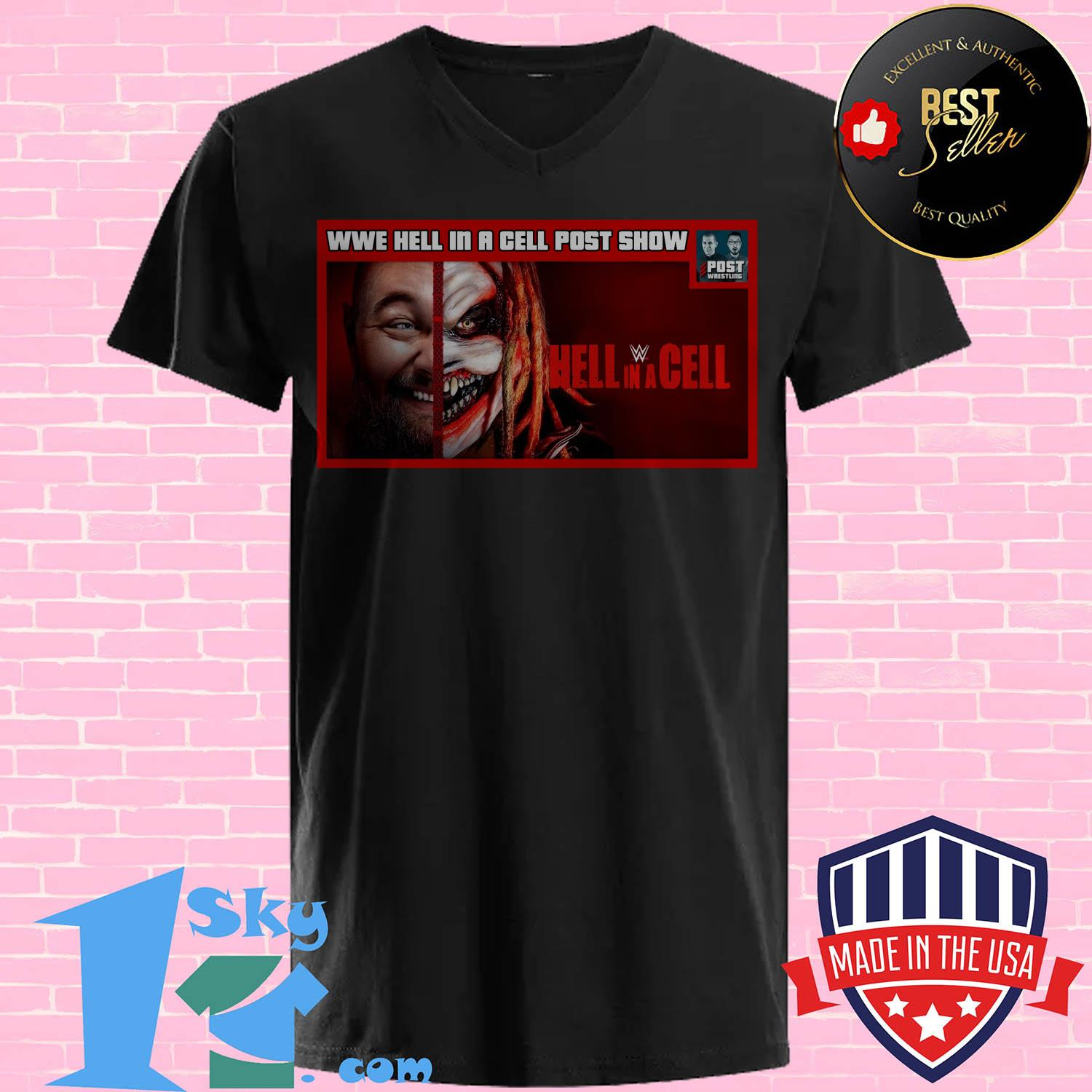 wwe hell in a cell post show hell in a cell ladies tee - Wwe Hell In A Cell Post Show Hell In A Cell Shirt