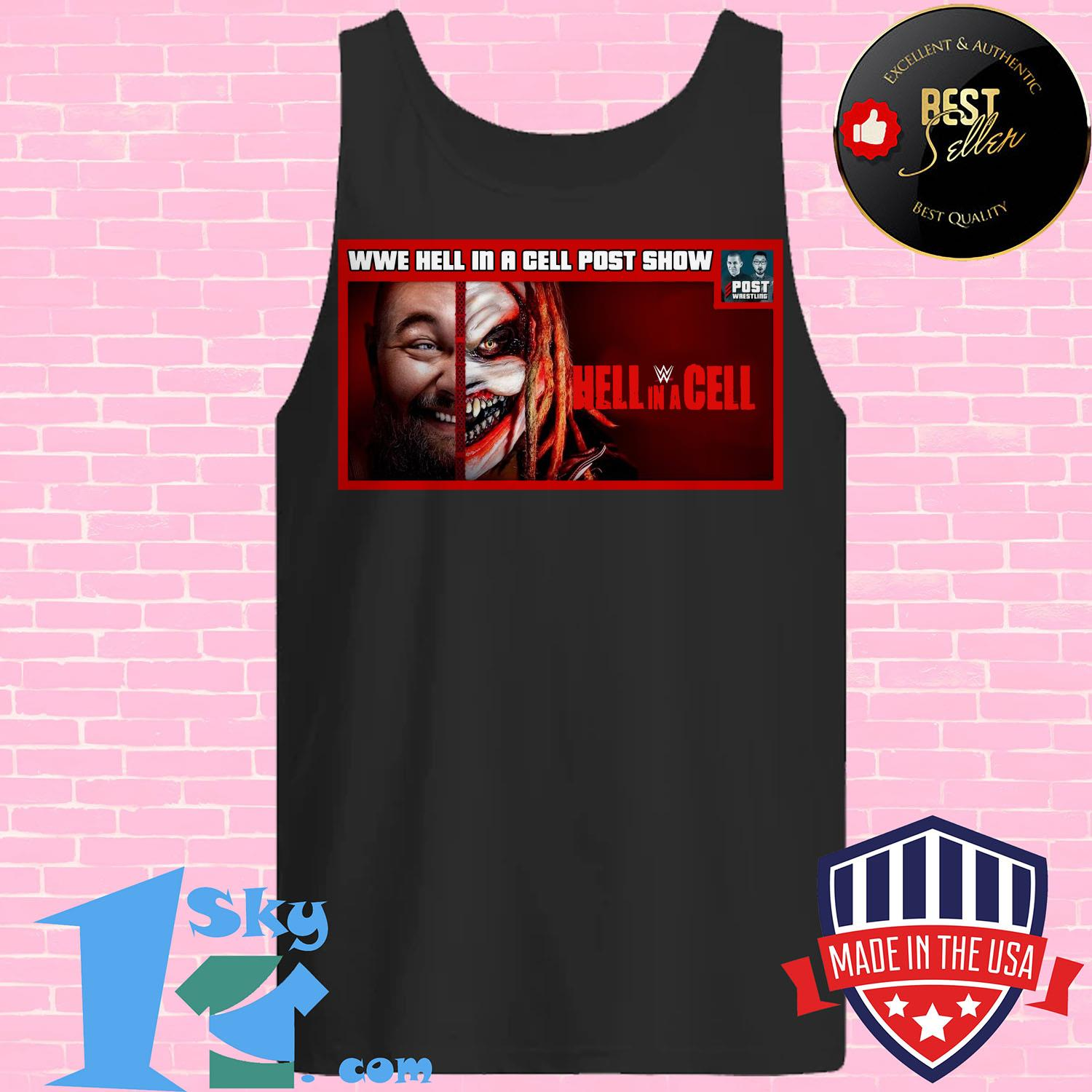 wwe hell in a cell post show hell in a cell tank top 1 - Wwe Hell In A Cell Post Show Hell In A Cell Shirt