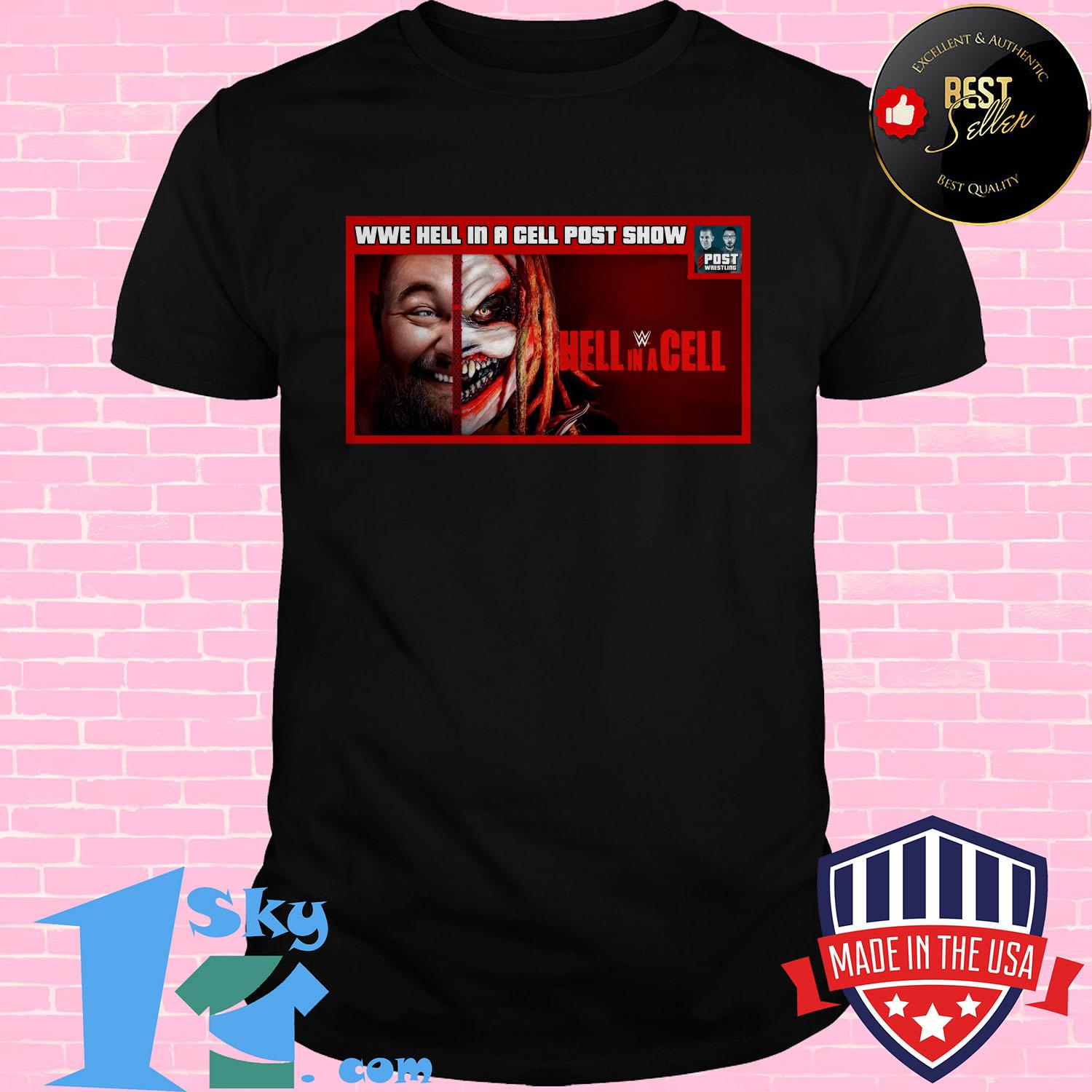 wwe hell in a cell post show hell in a cell v neck 1 - Wwe Hell In A Cell Post Show Hell In A Cell Shirt