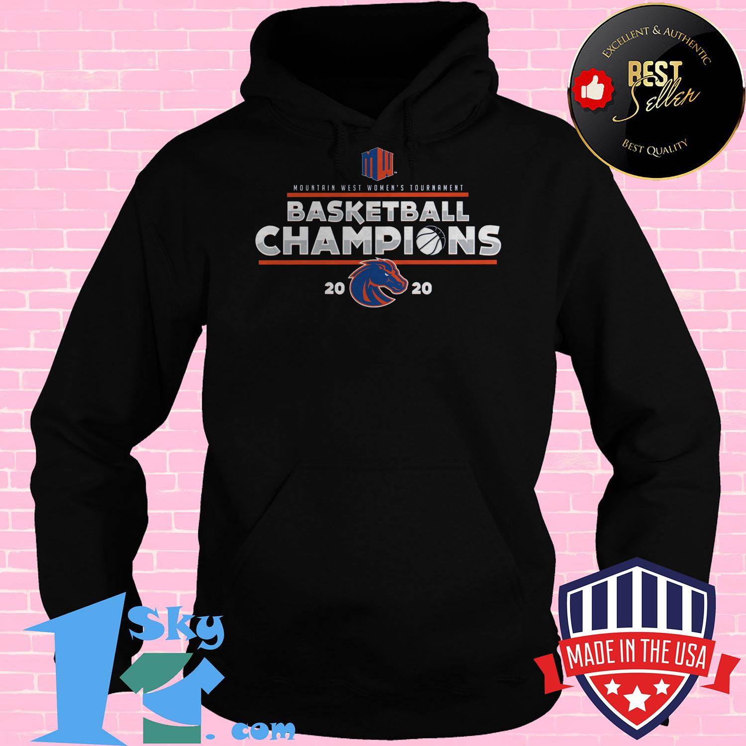mountain west womens basketball conference tournament champions 2020 Hoodies - Mountain West Women's Basketball Conference Tournament Champions 2020 Shirt