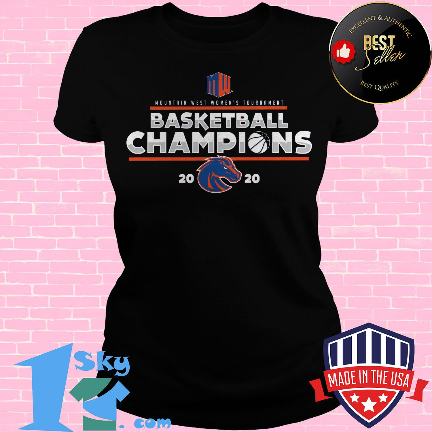 mountain west womens basketball conference tournament champions 2020 ladies tee - Mountain West Women's Basketball Conference Tournament Champions 2020 Shirt