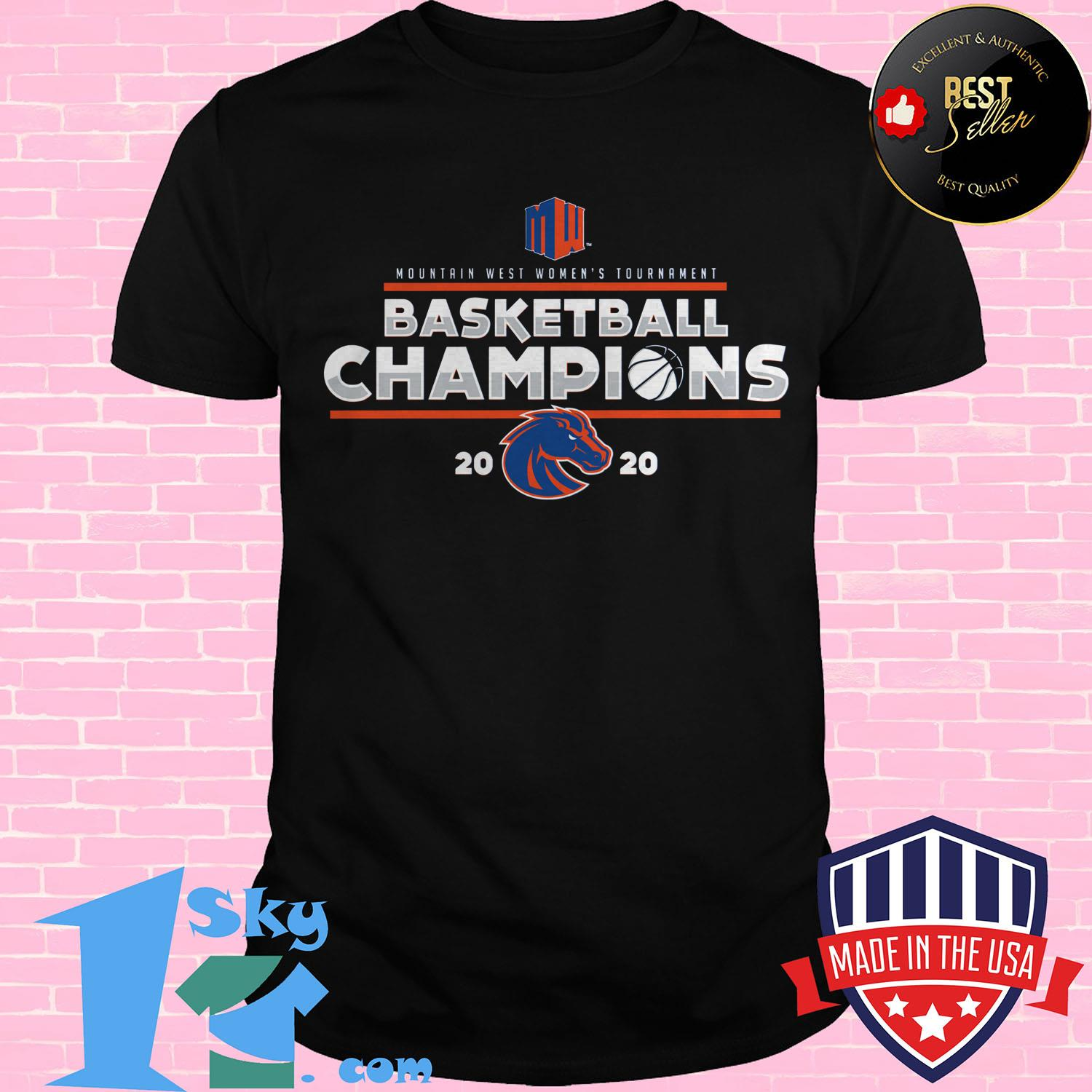 mountain west womens basketball conference tournament champions 2020 shirt - Mountain West Women's Basketball Conference Tournament Champions 2020 Shirt