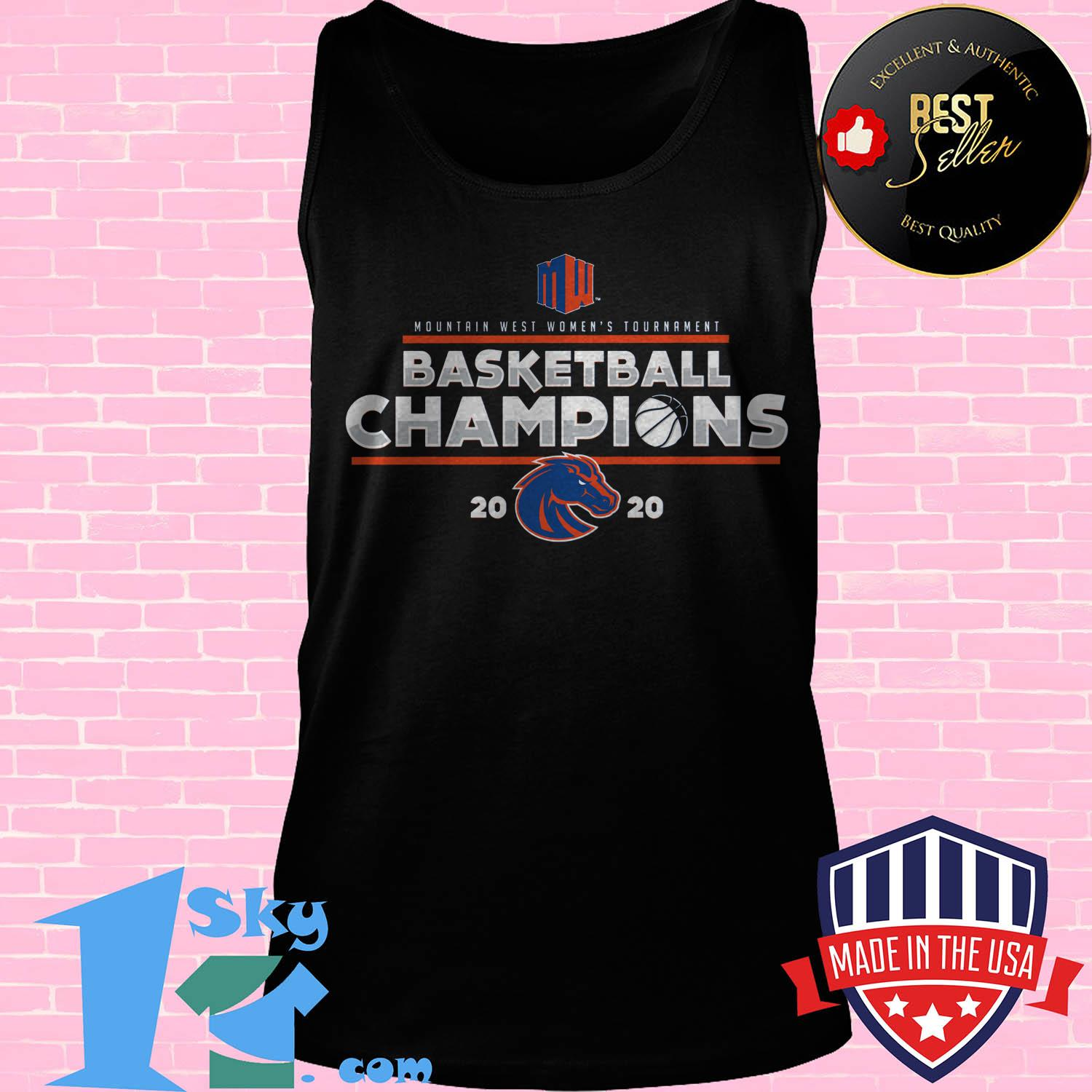 mountain west womens basketball conference tournament champions 2020 tank top - Mountain West Women's Basketball Conference Tournament Champions 2020 Shirt