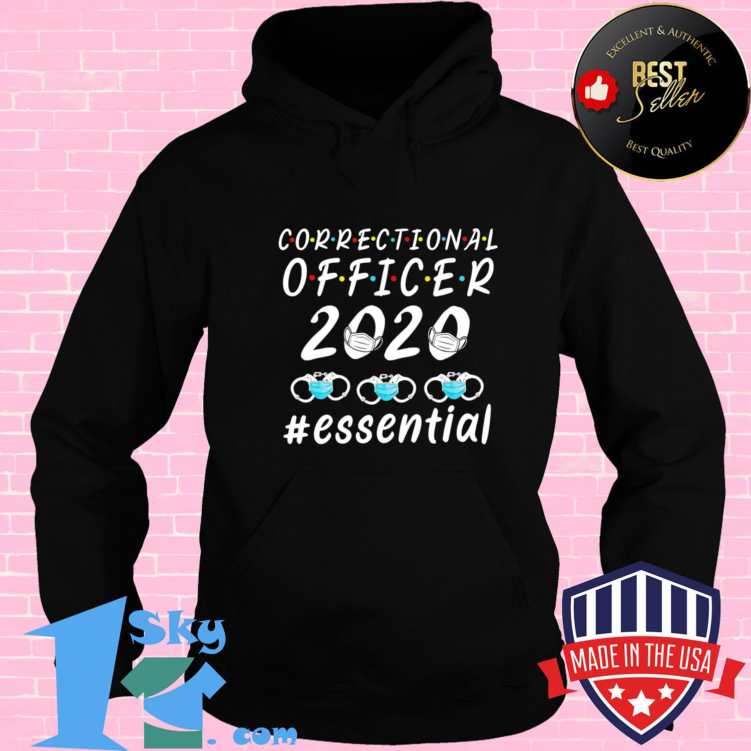 Correctional officer 2020 mask essential shirt