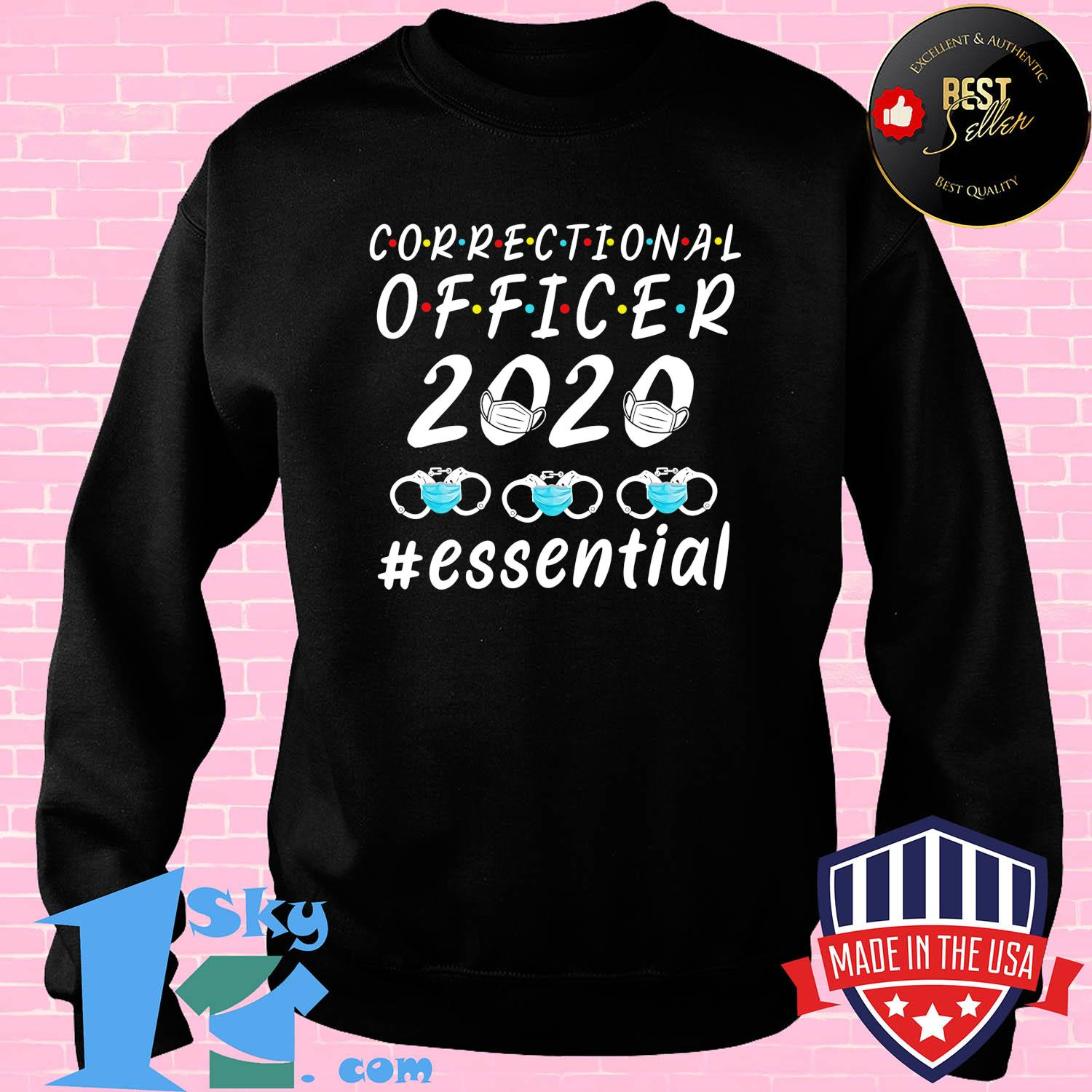 Correctional officer 2020 mask essential s Sweater