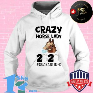 Crazy Horse lady 2020 quarantined toilet paper mask s Hoodie