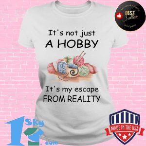 It's not just a hobby it's my escape from reality Wool s V-neck