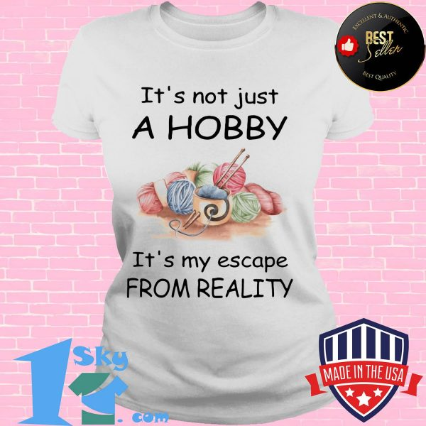 It's not just a hobby it's my escape from reality Wool shirt