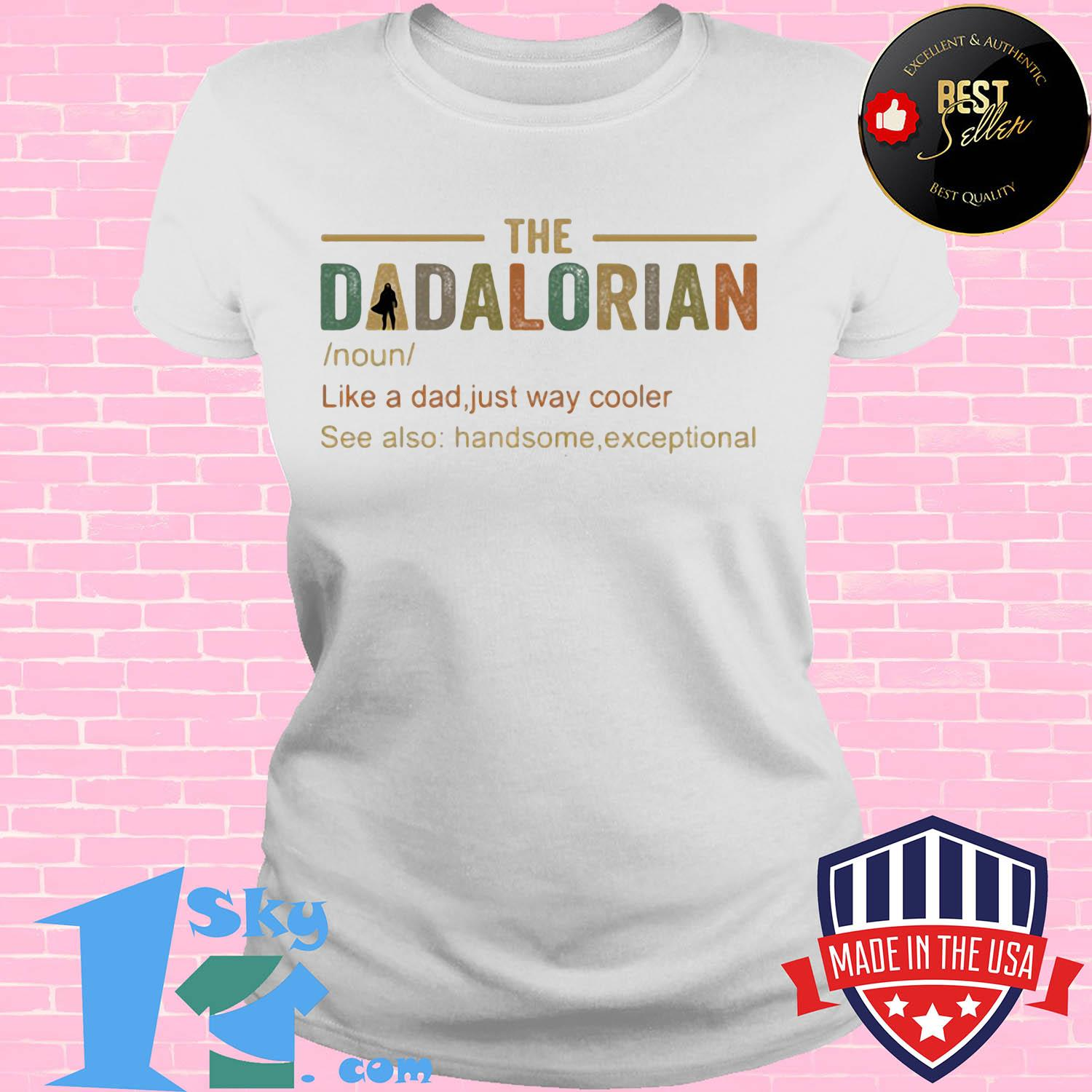 The dadalorian like a dad just way cooler s V-neck