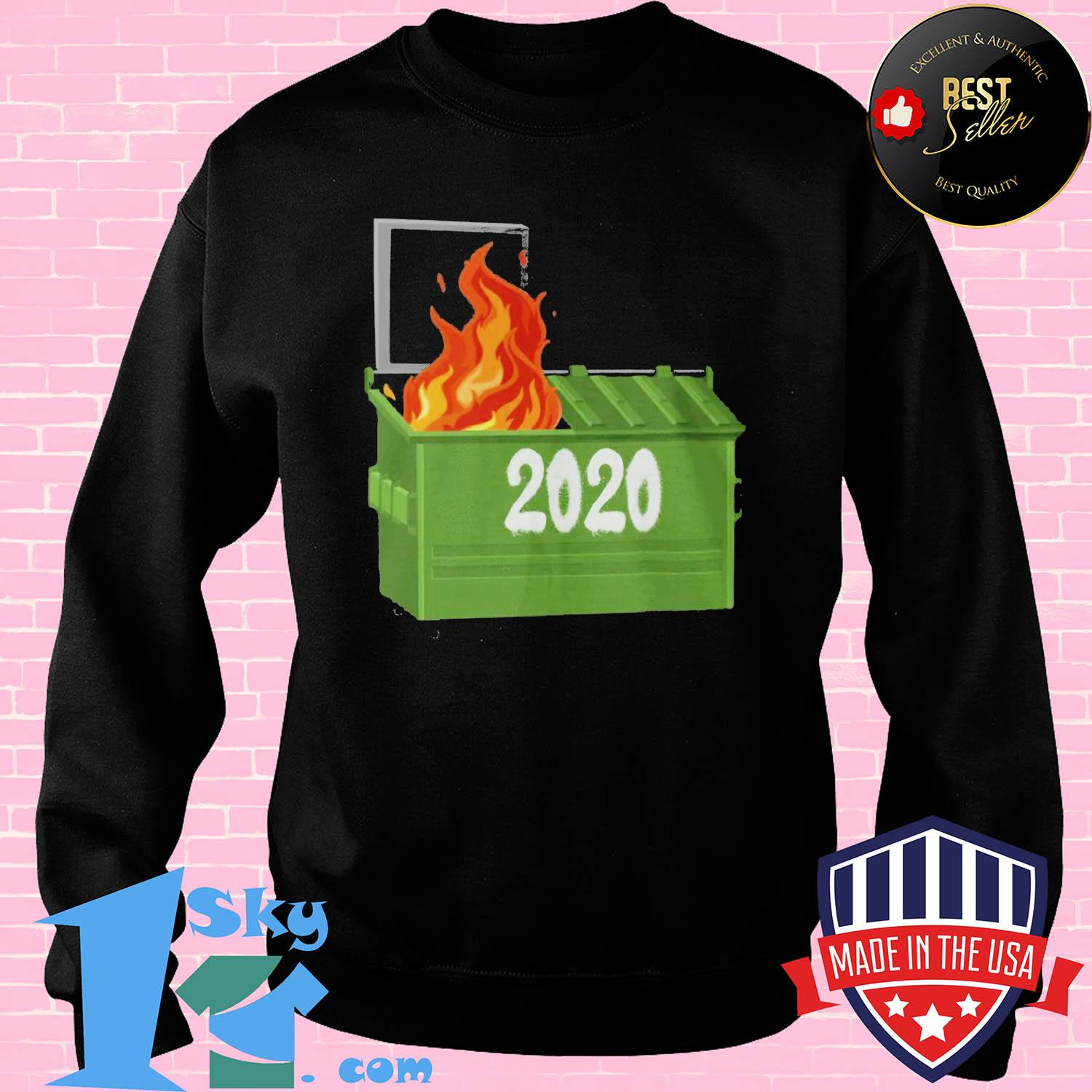 Official Dumpster fire 2020 shirt