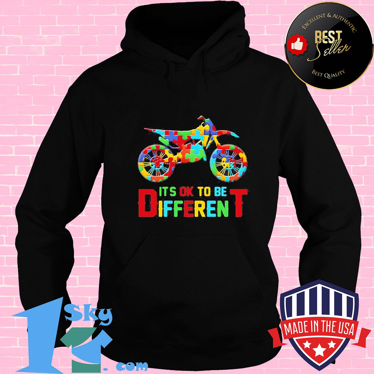 de25ccd5 motor autism it s ok to be different shirt hoodie - Shop trending - We offer all trend shirts - 1SkyTee