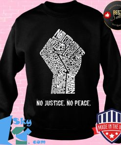 Juneteenth no justice no peace s Sweater